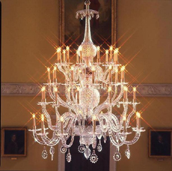 Octagon Room Chandelier