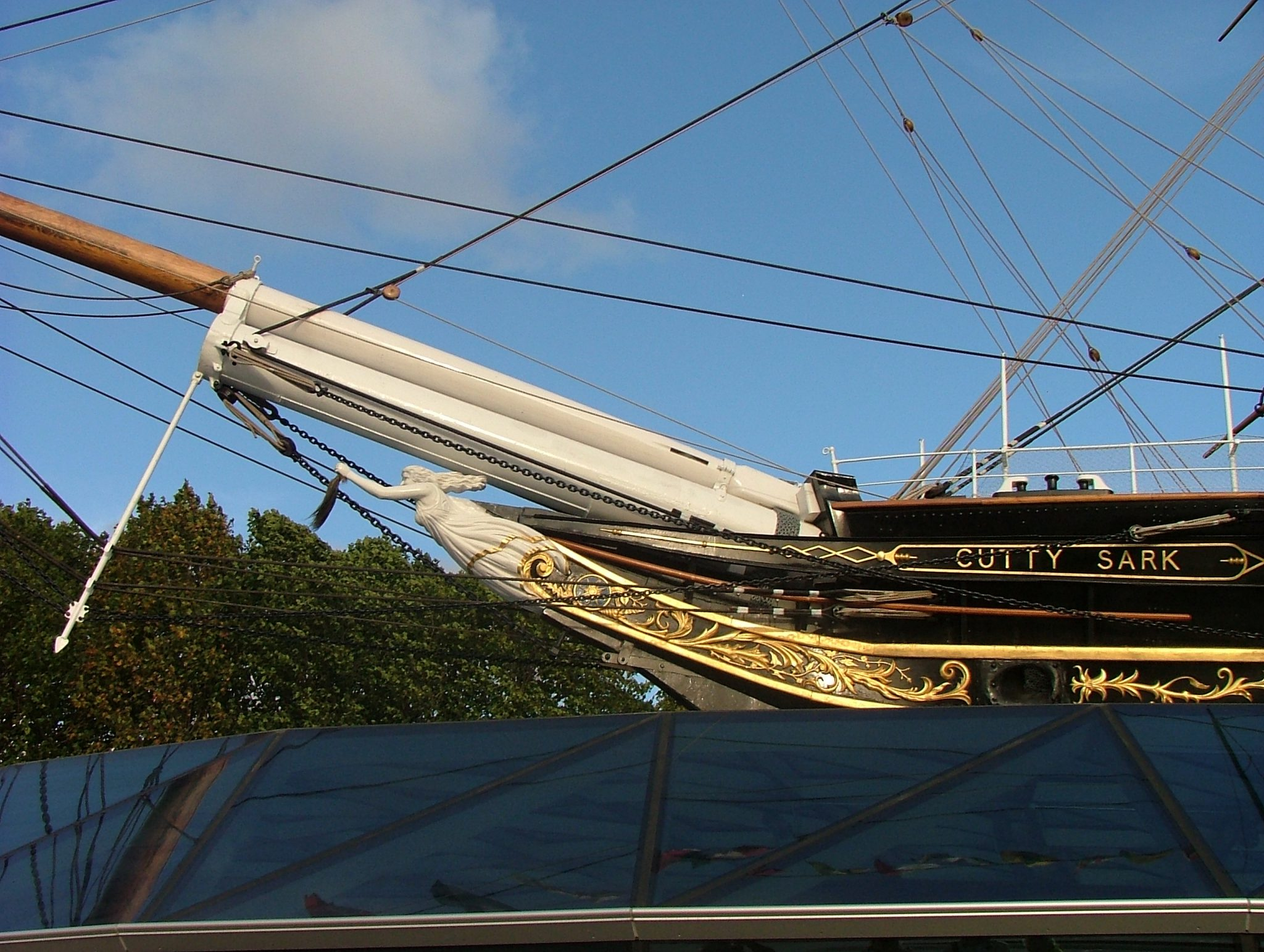 Cutty Sark Figurehead. AG