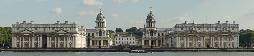 Another view of Christopher Wren's masterpiece in Greenwich