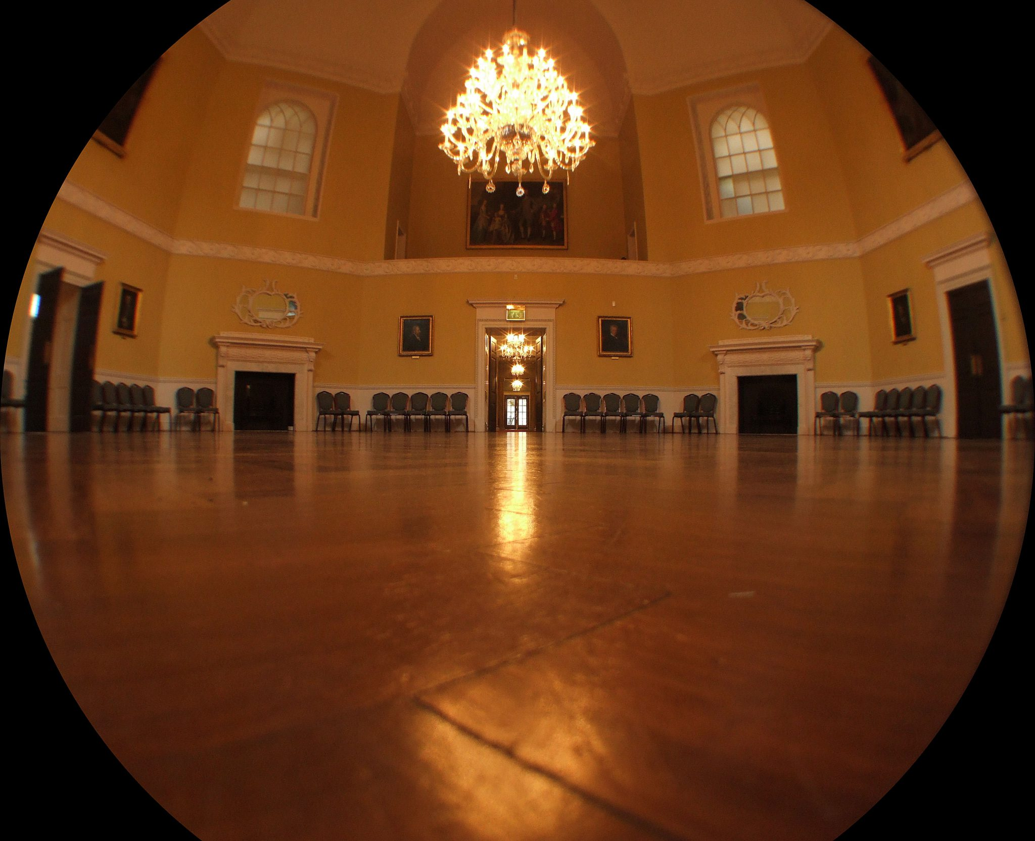 The Octagon Room at The Assembly Rooms