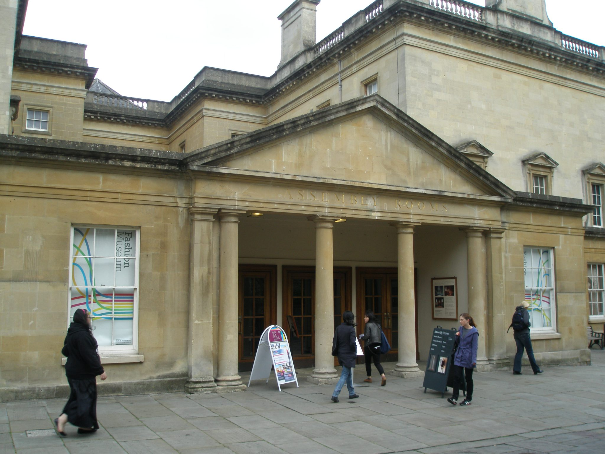 Entrance to The Assembly Rooms