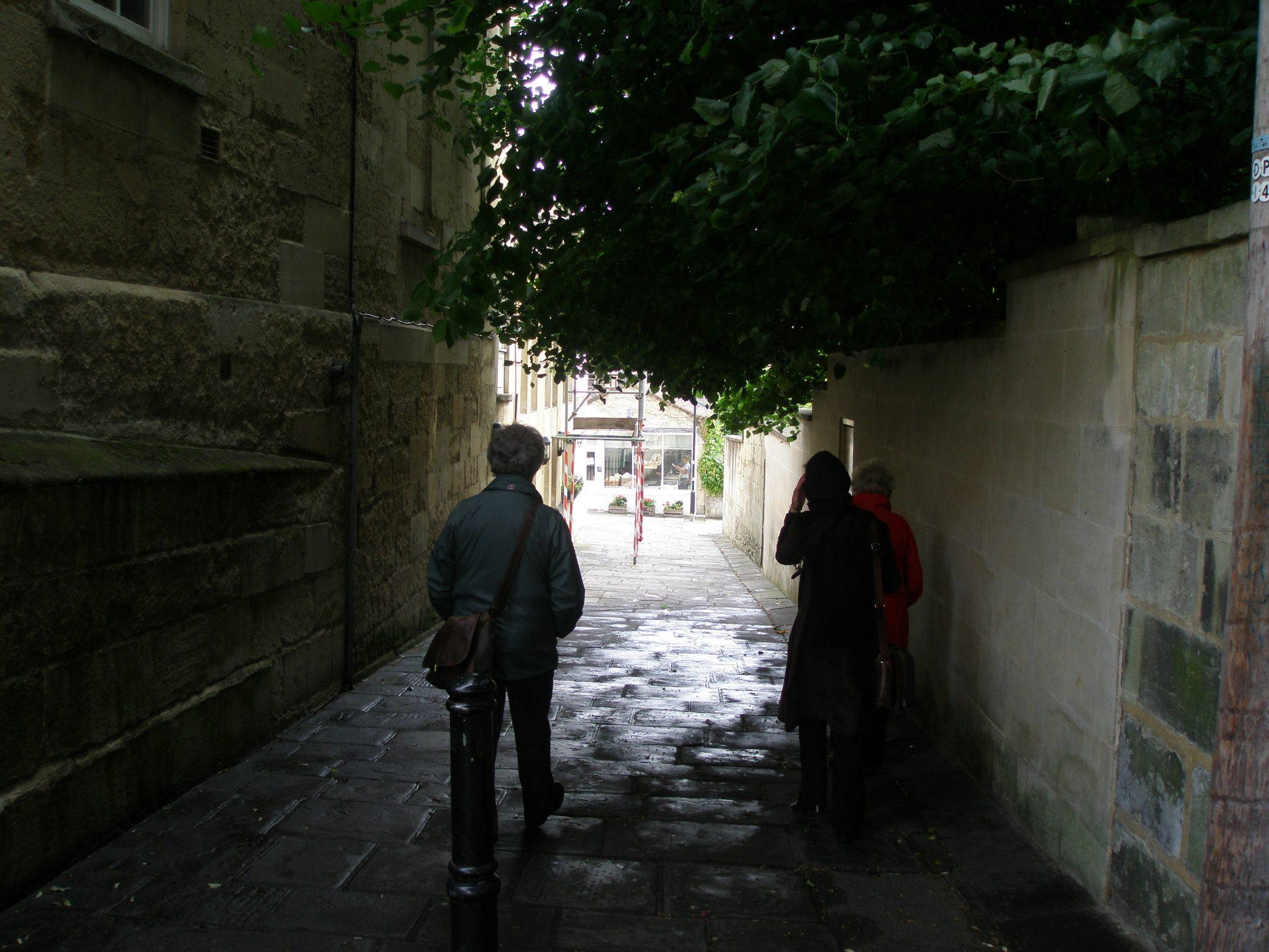 Dark alleys...