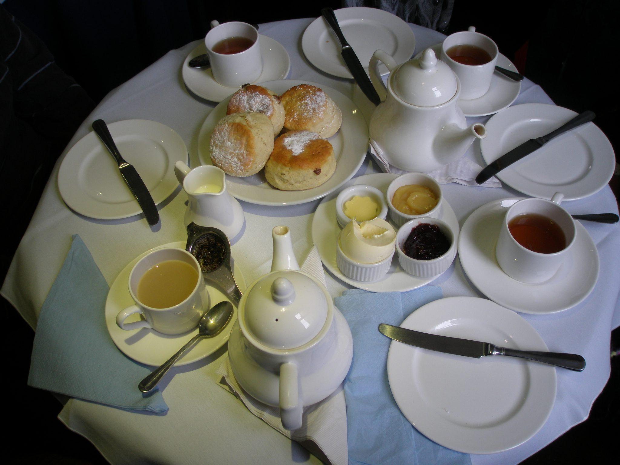 Our Perfect Tea at the Jane Austen Centre