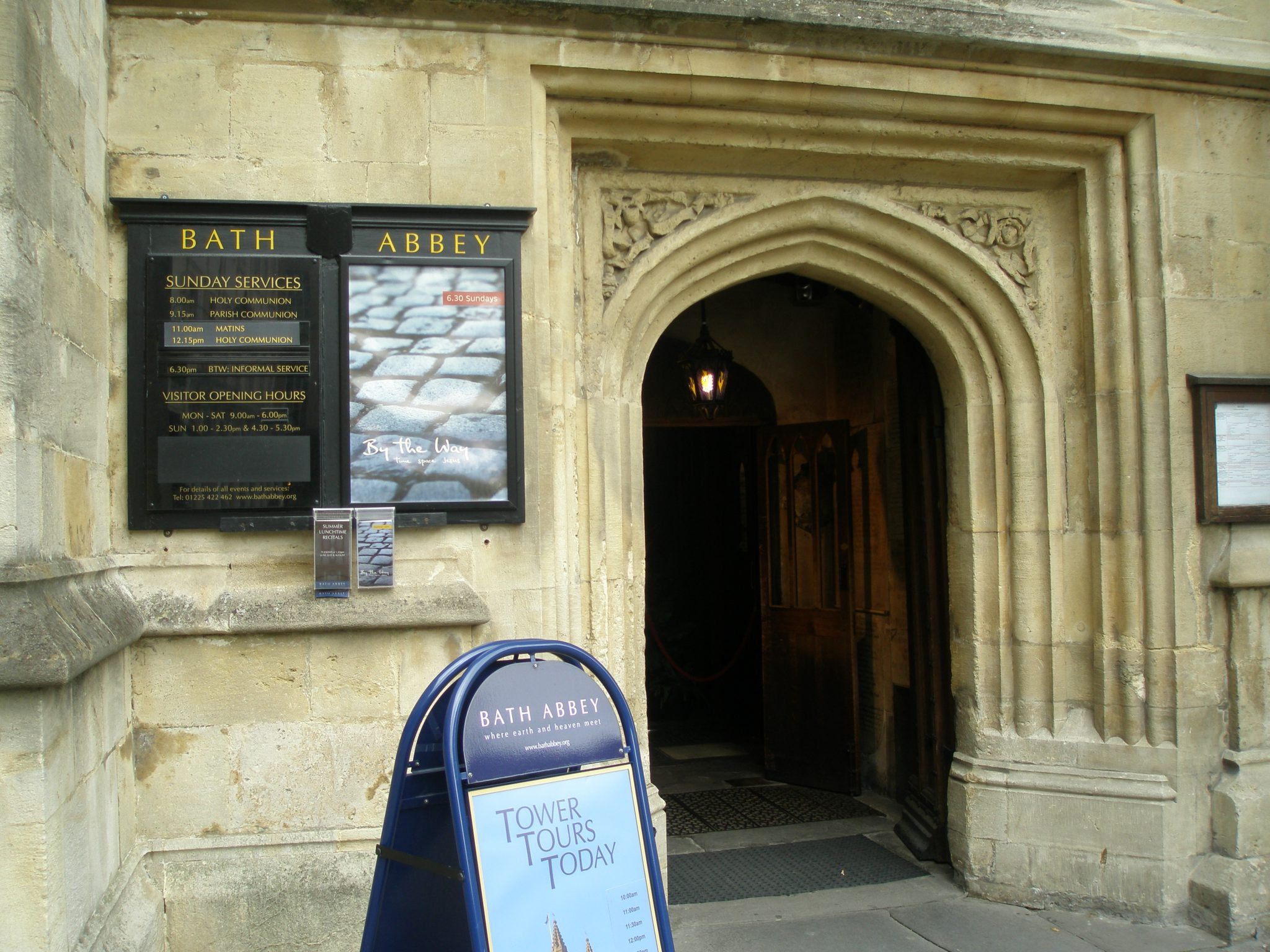 Entry to Bath Abbey