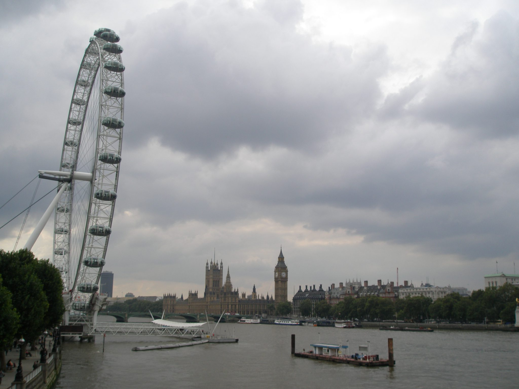 London Eye, & Houses of Parliament