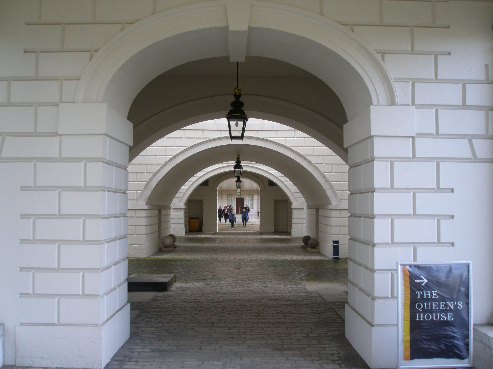 Basement level corridor, The Queen's House
