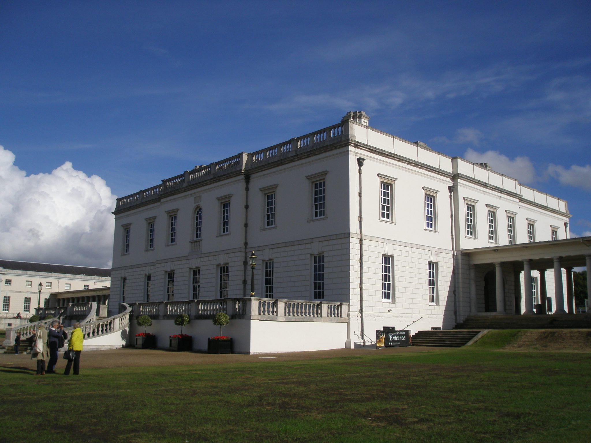 """Palace Side"" and North Elevation of The Queen's House, by Inigo Jones"