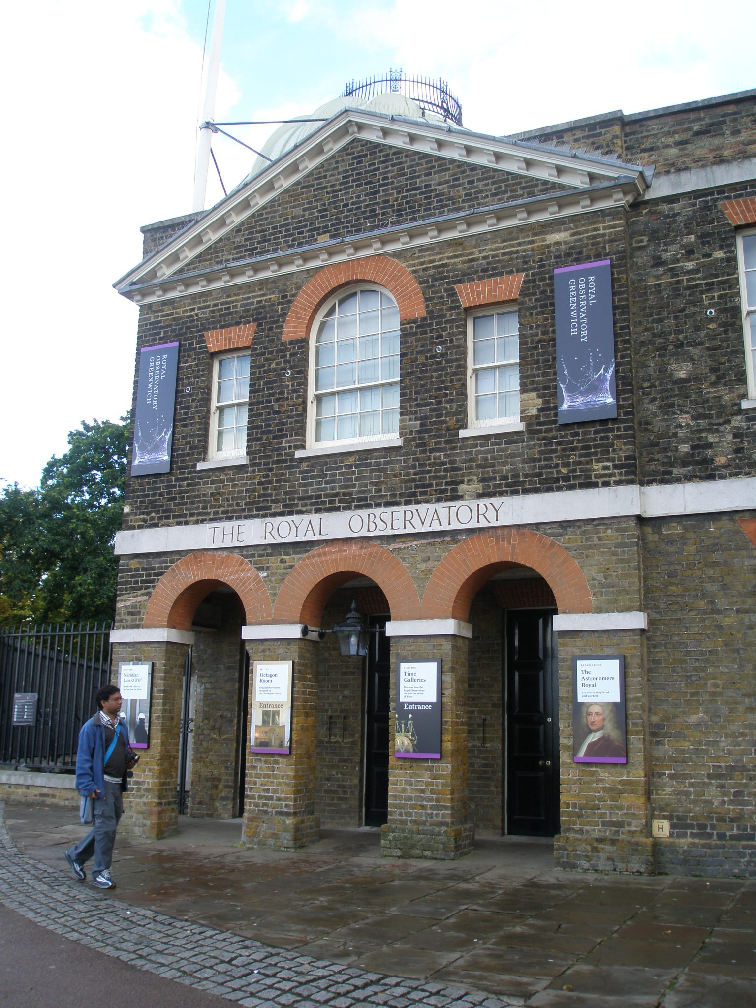 The Royal Observatory, Greenwich, England