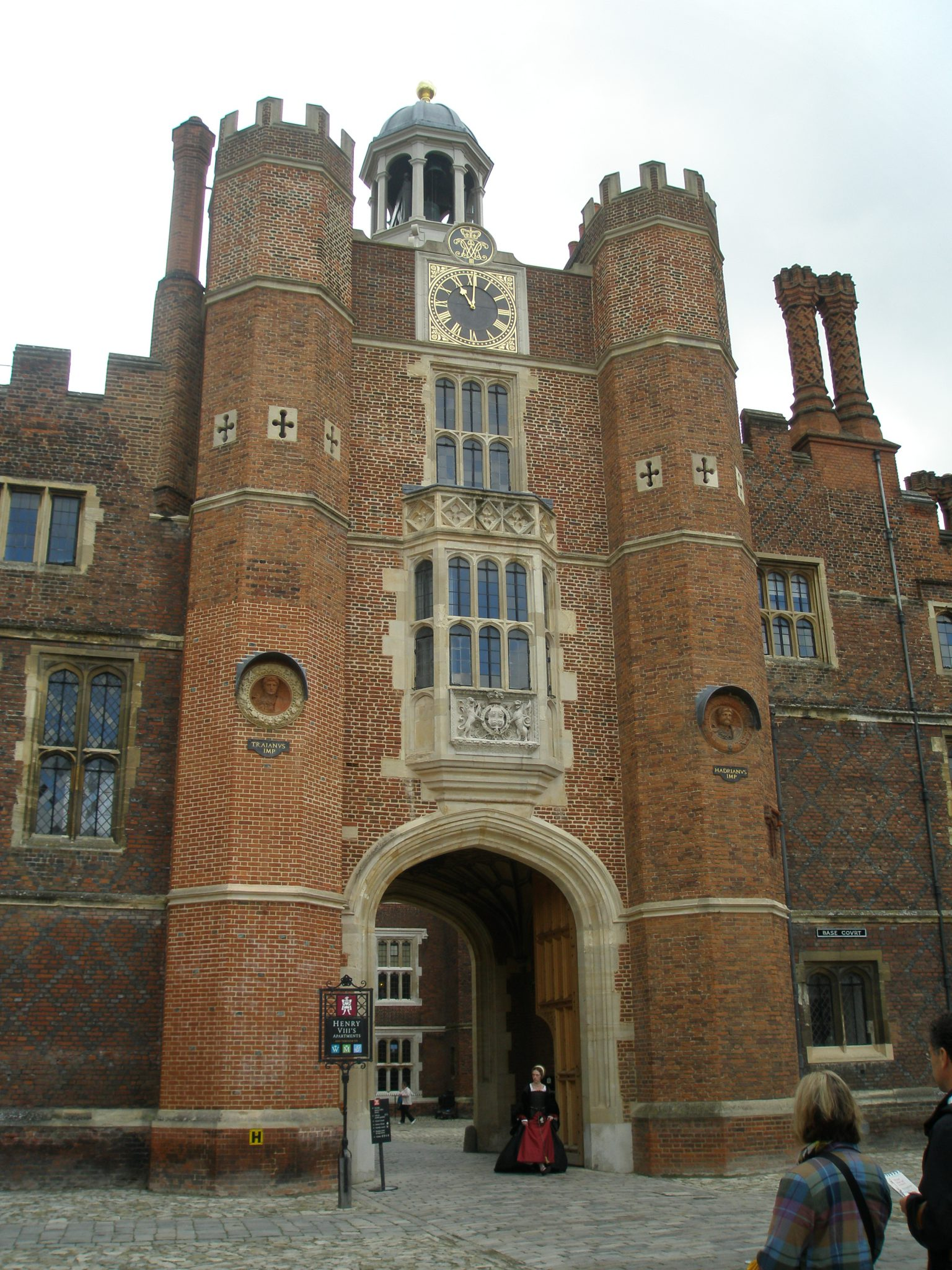 The Court Clock, on Anne Boleyn's Gatehouse