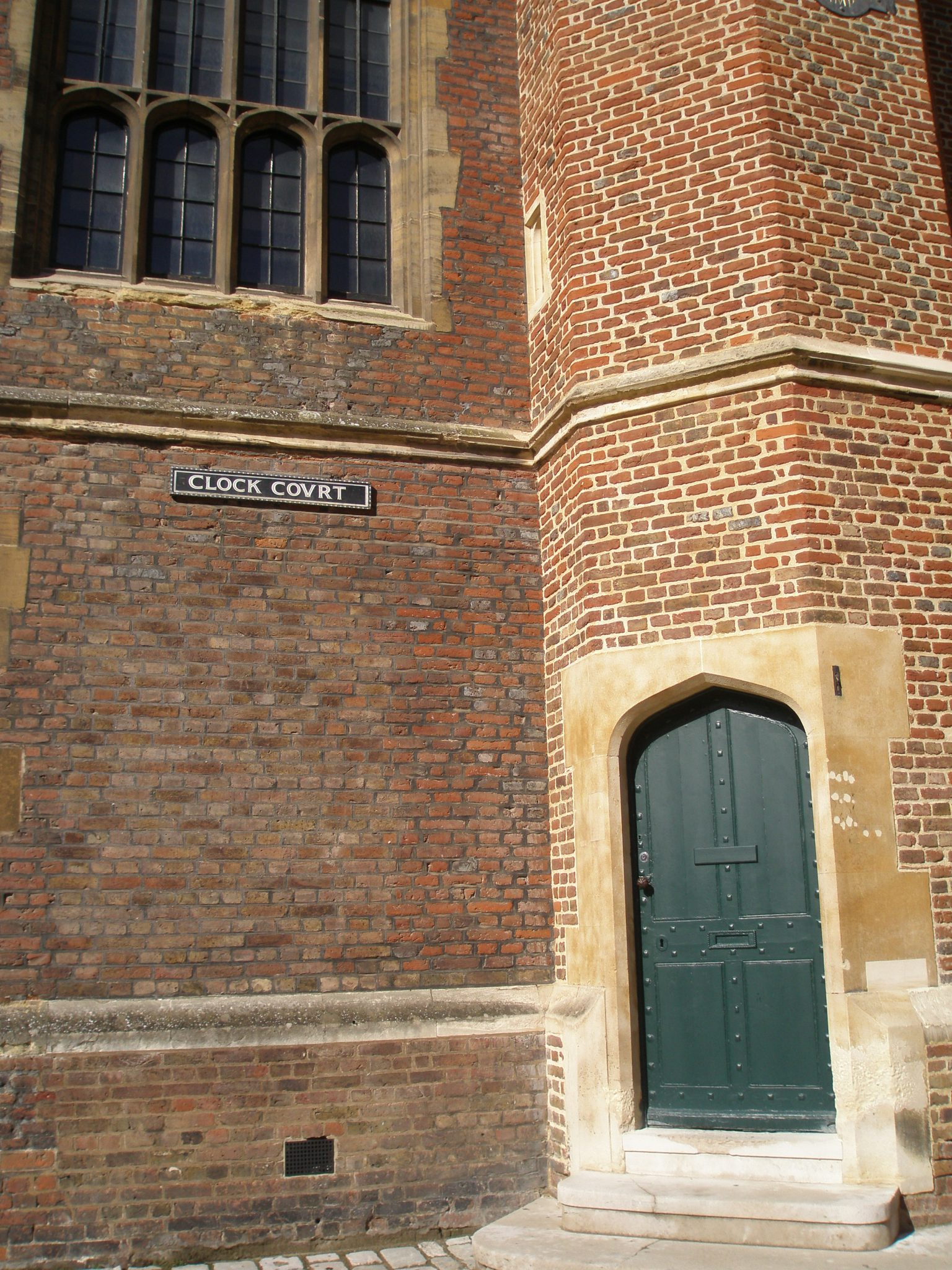 Doorway in Clock Court