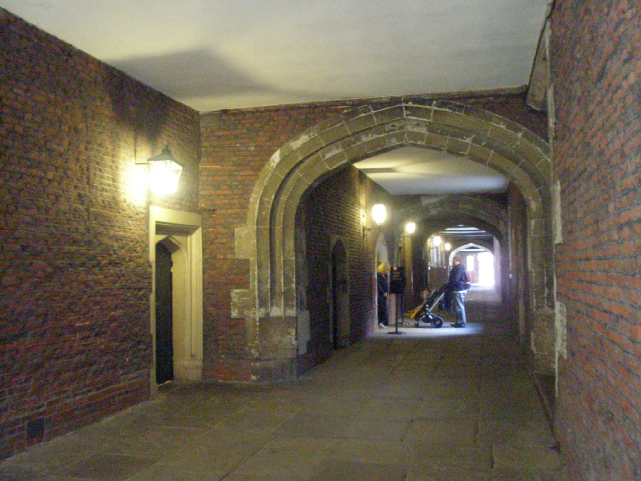 Passage leading to Henry VIII's Great Kitchens