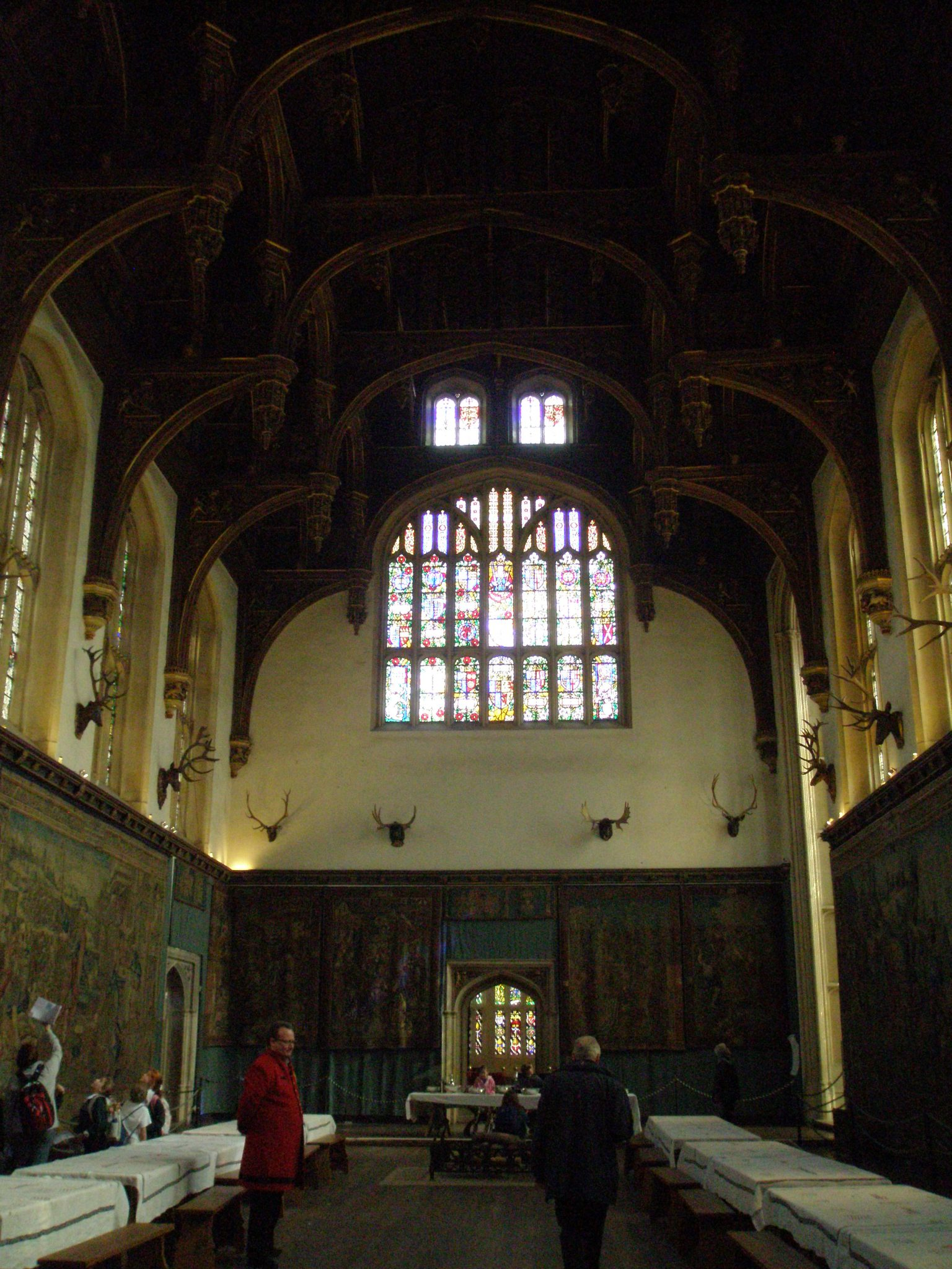 The Great Hall, in Henry VIII's Apartments