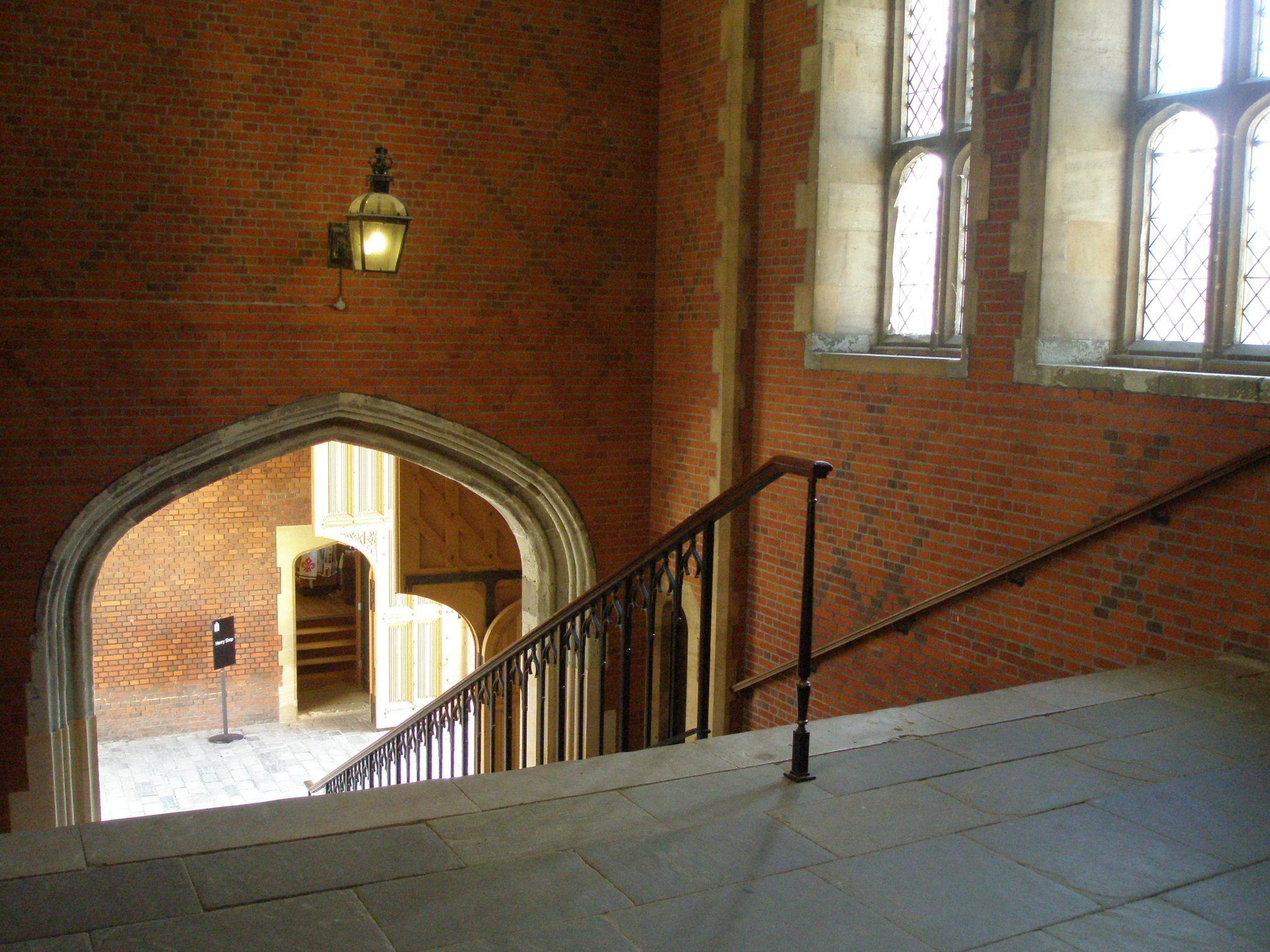 Stairway to Henry VIII's Apartments