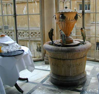 Pump Room Spring Water Fountain