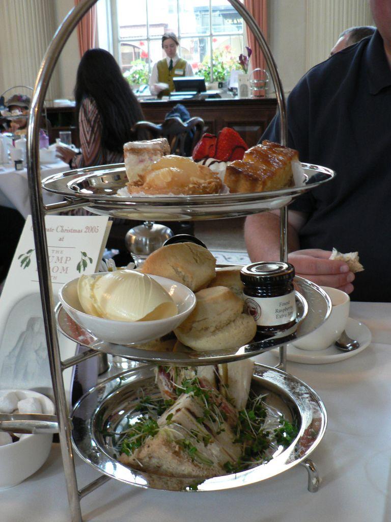 Teatime Goodies at the Pump Room