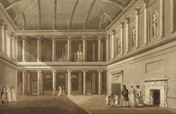 The Tea/Concert Room in Austen's time