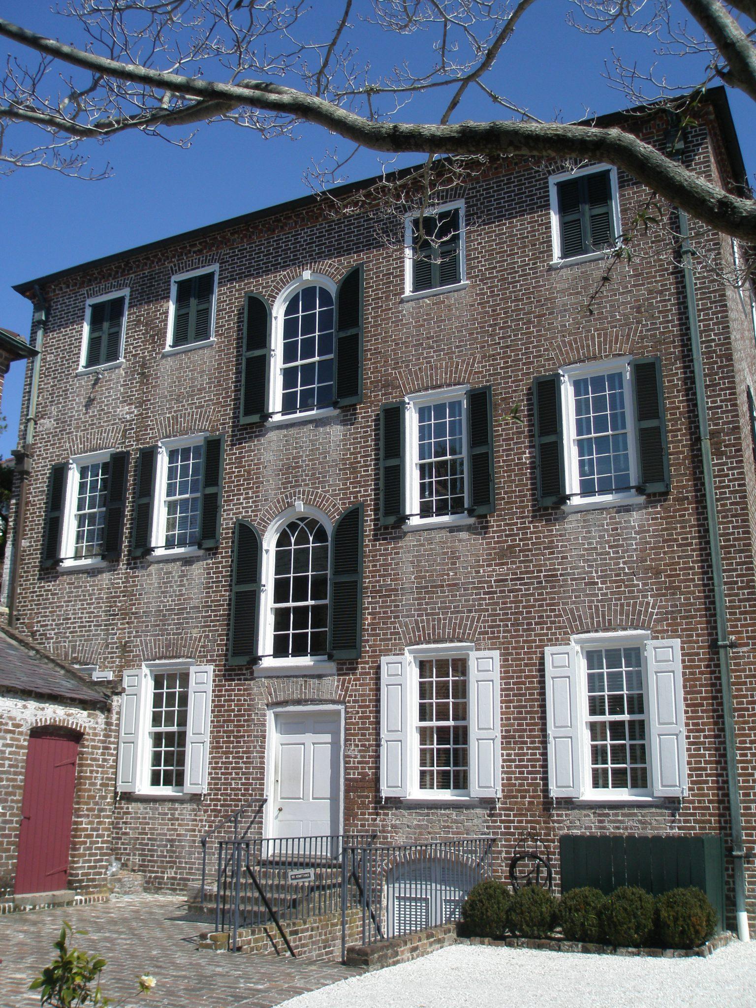 Back Entry at Heyward-Washington House