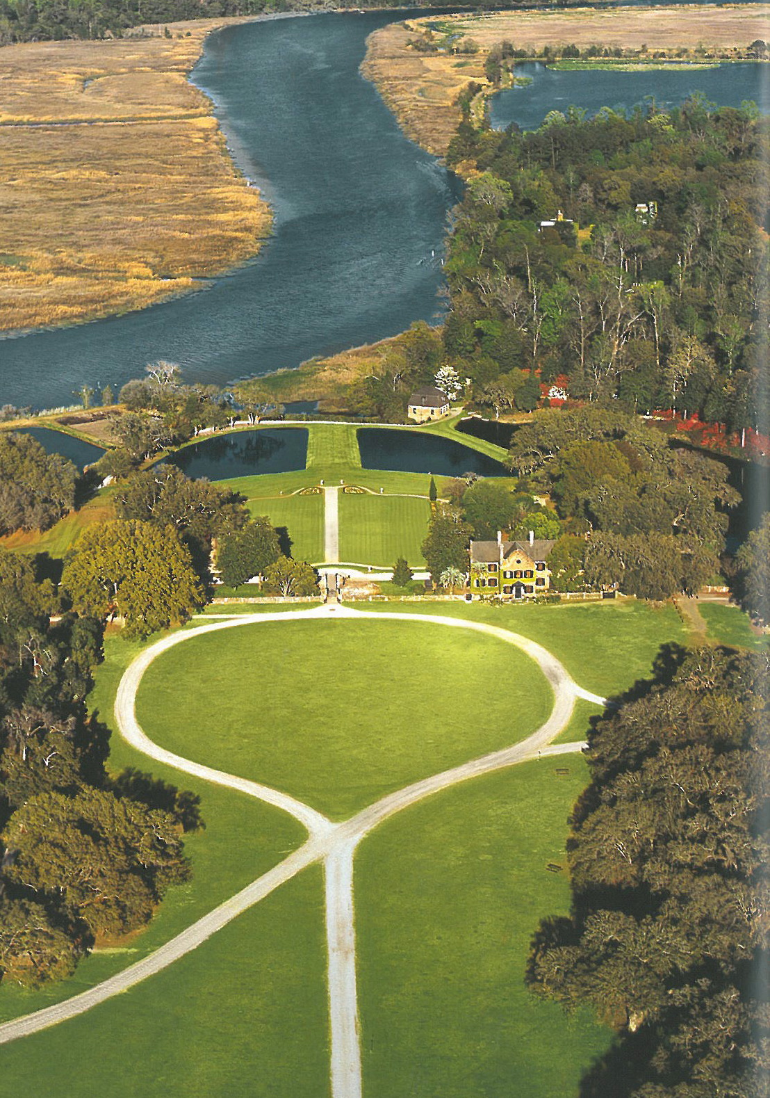 A Better View of the Sheep Meadow, and Greensward Circle. Image courtesy of the Middleton Place Foundation.