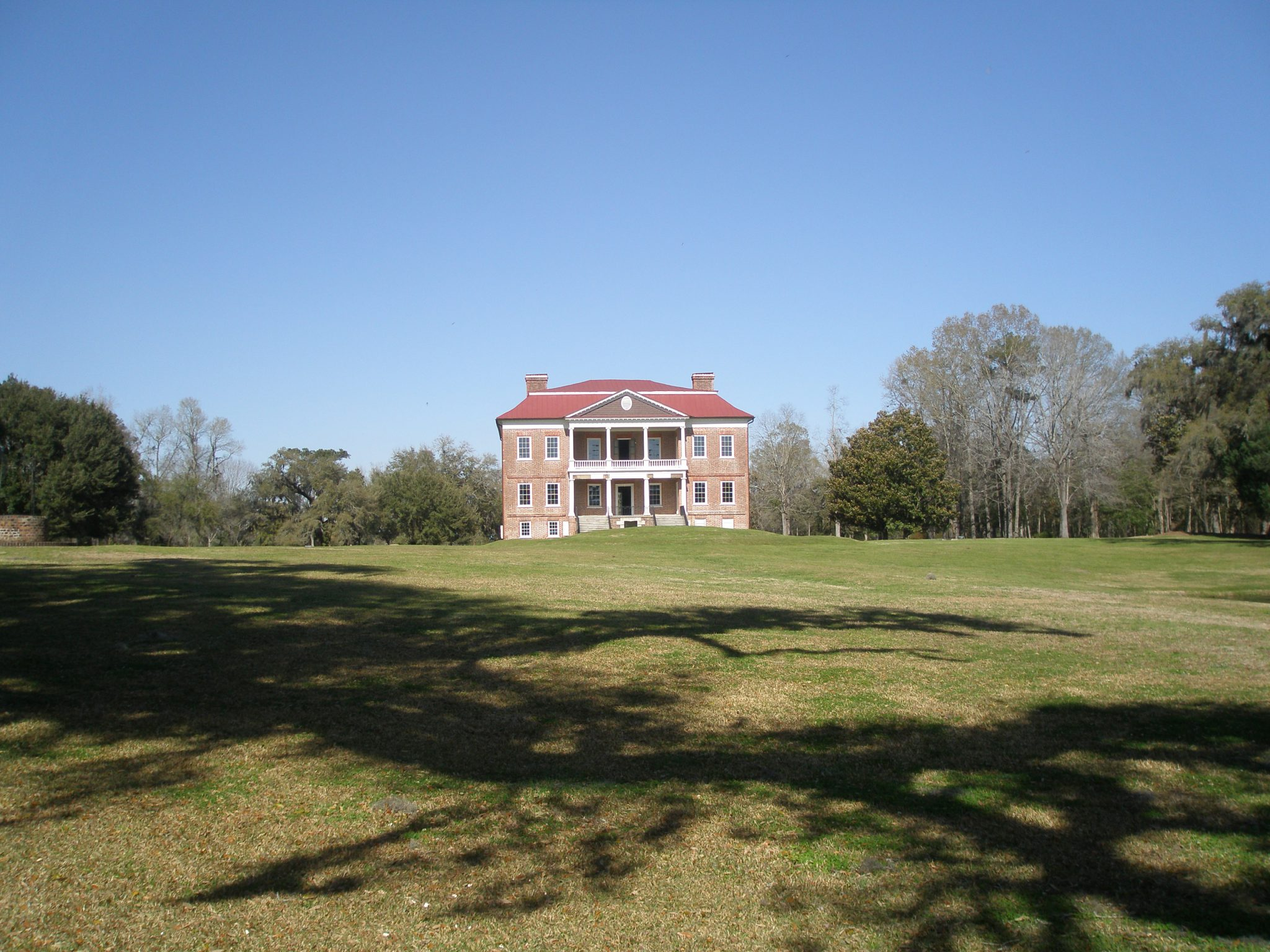 Our parting view of Drayton Hall.