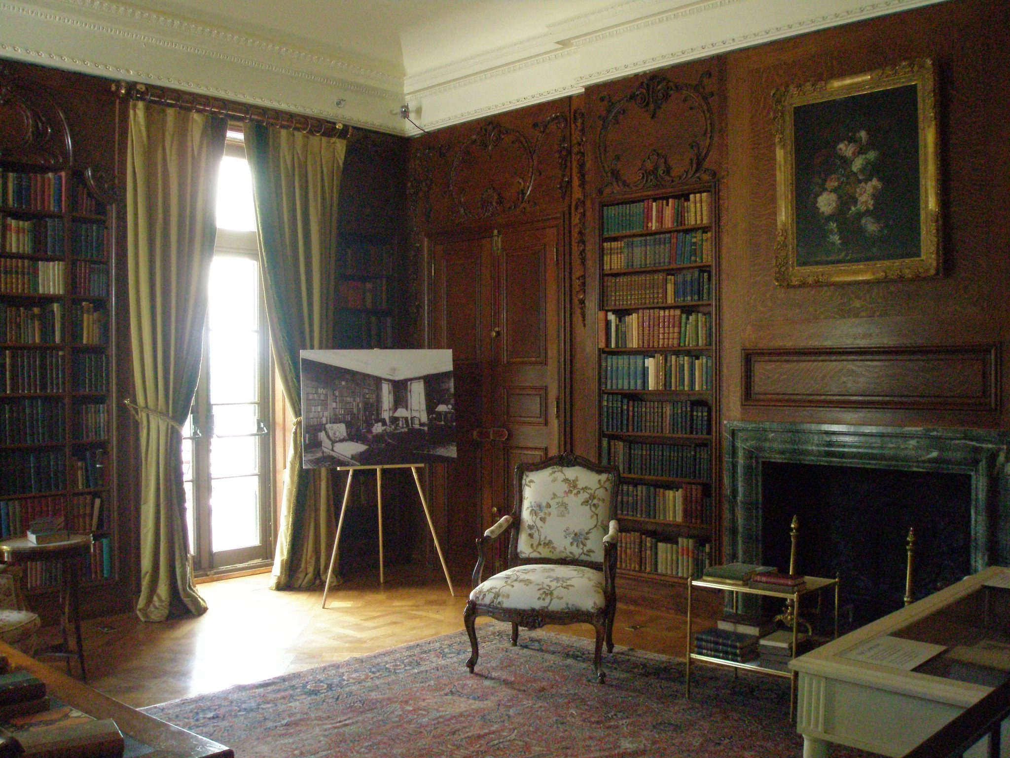Another view of The Library