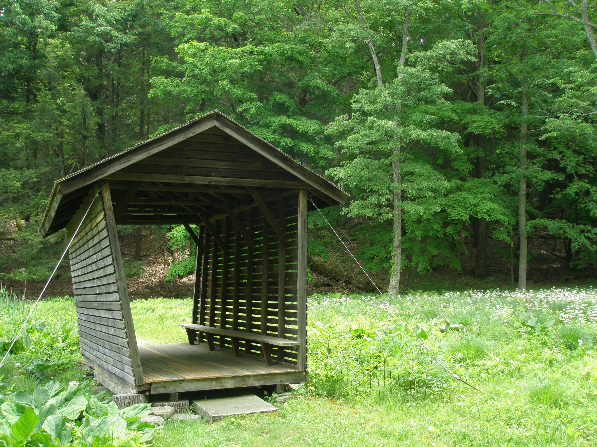 How to recycle a corn crib