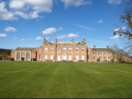 Godmersham Park, in Kent. Home of Jane Austen's brother, Edward Knight. This building is not open to the public.