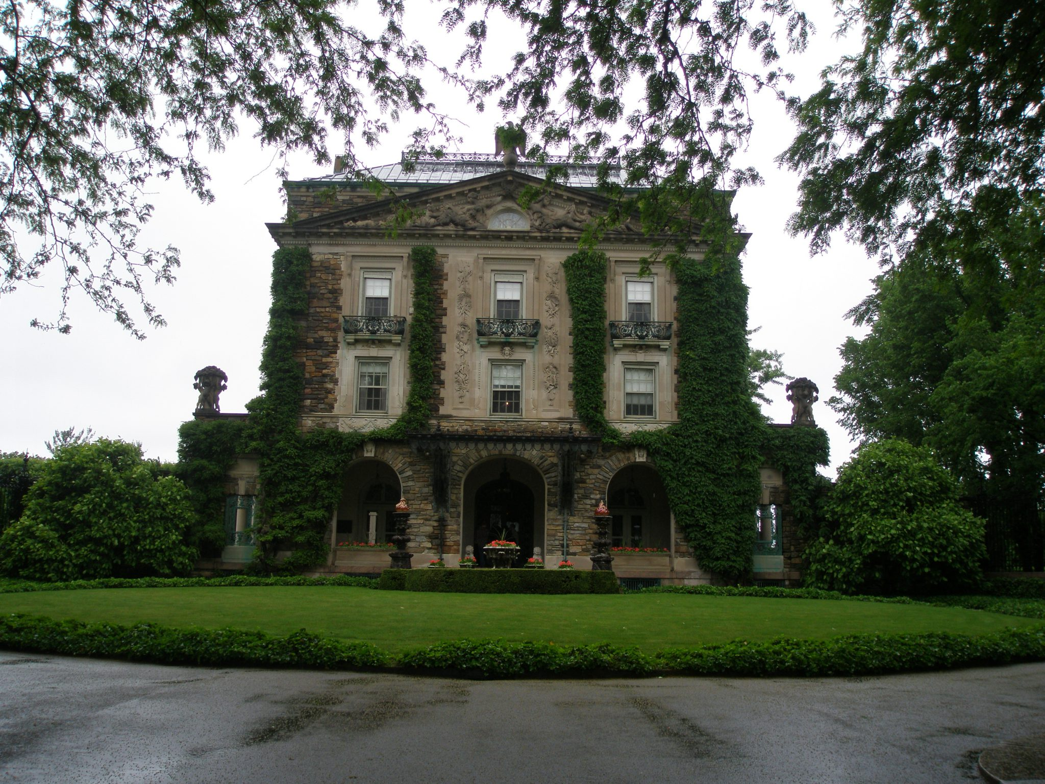 The Forecourt Facade of the Main House