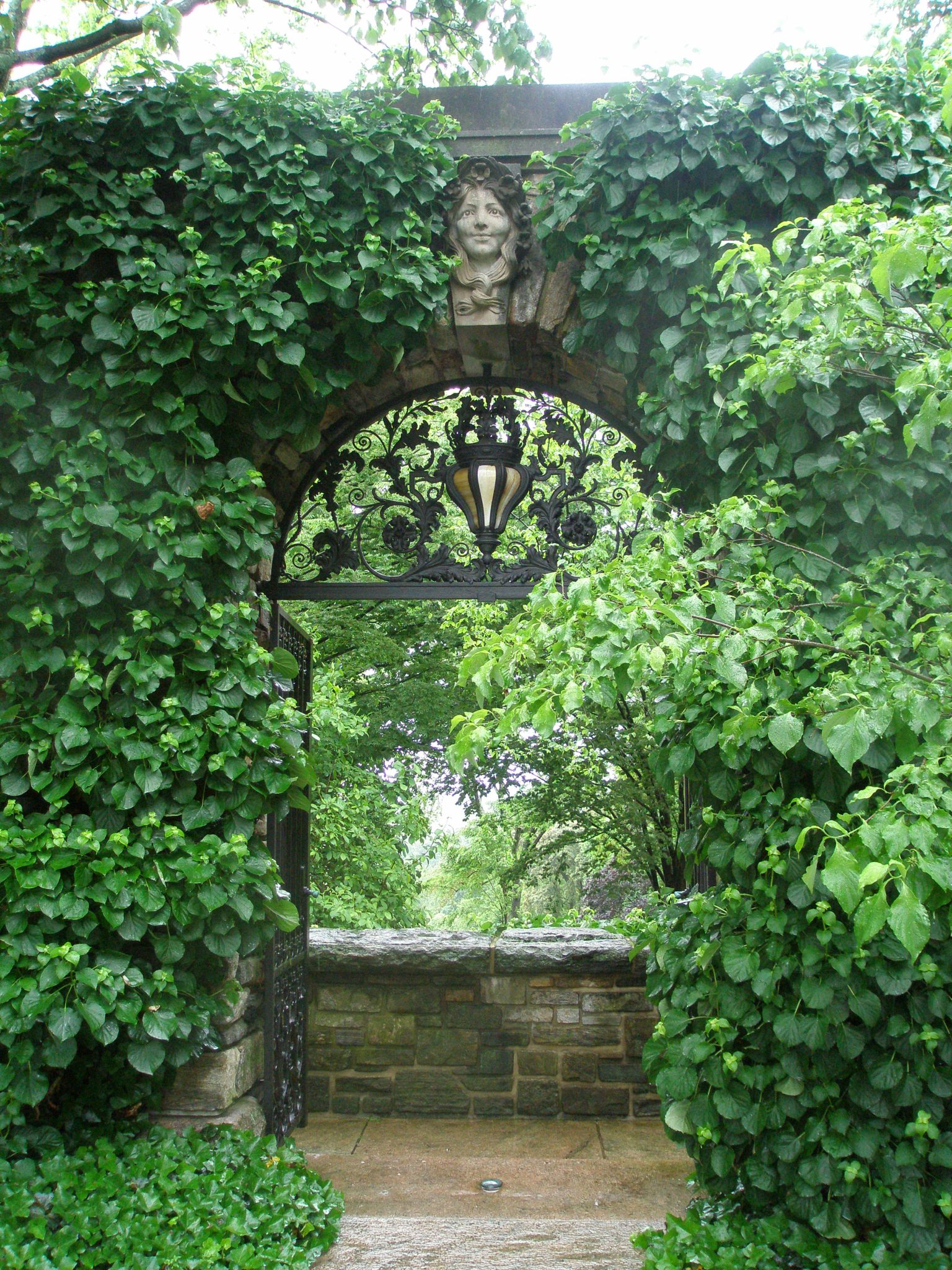 Gateway near Front Entry Loggia