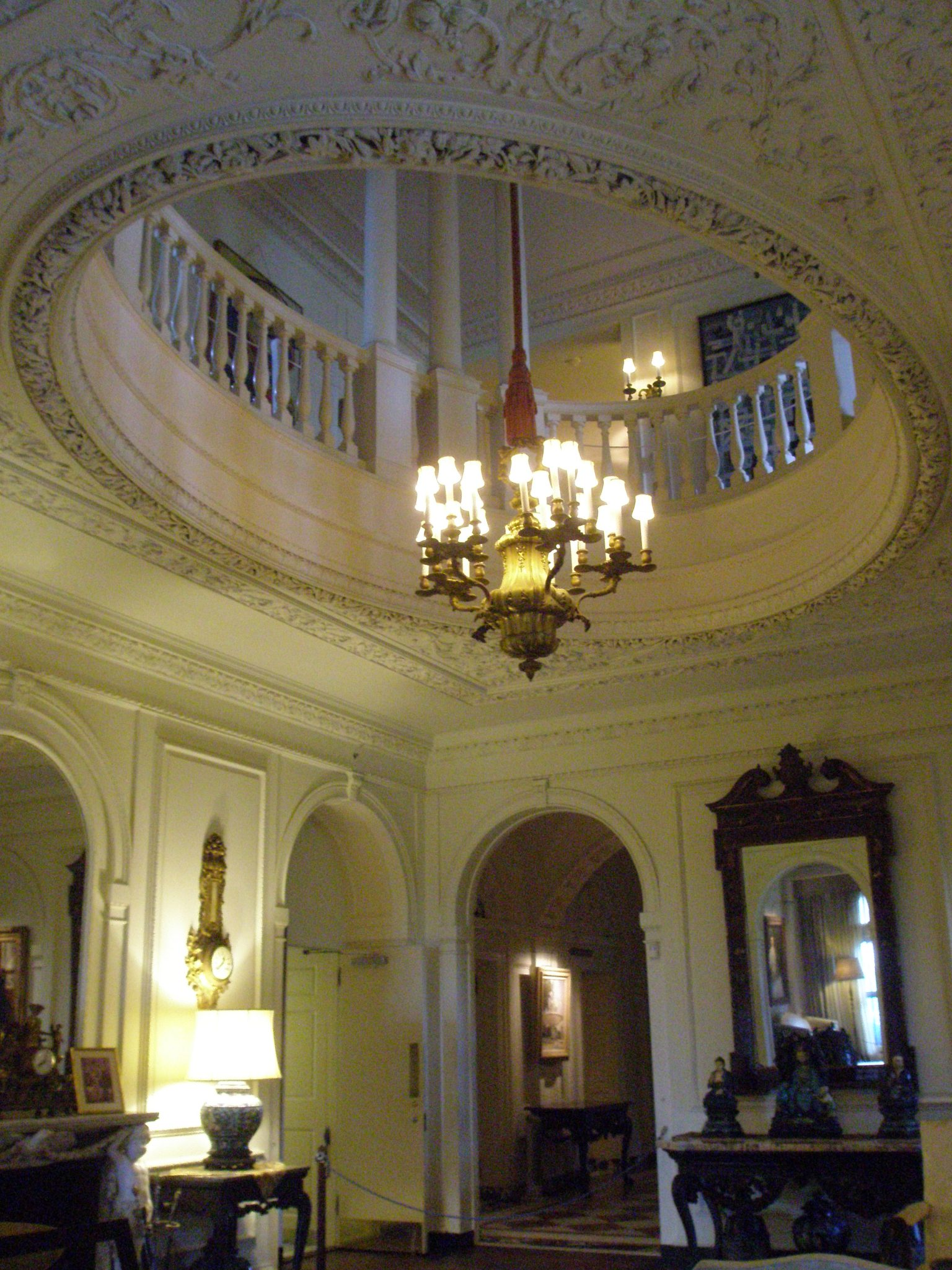 The double-height Music Room