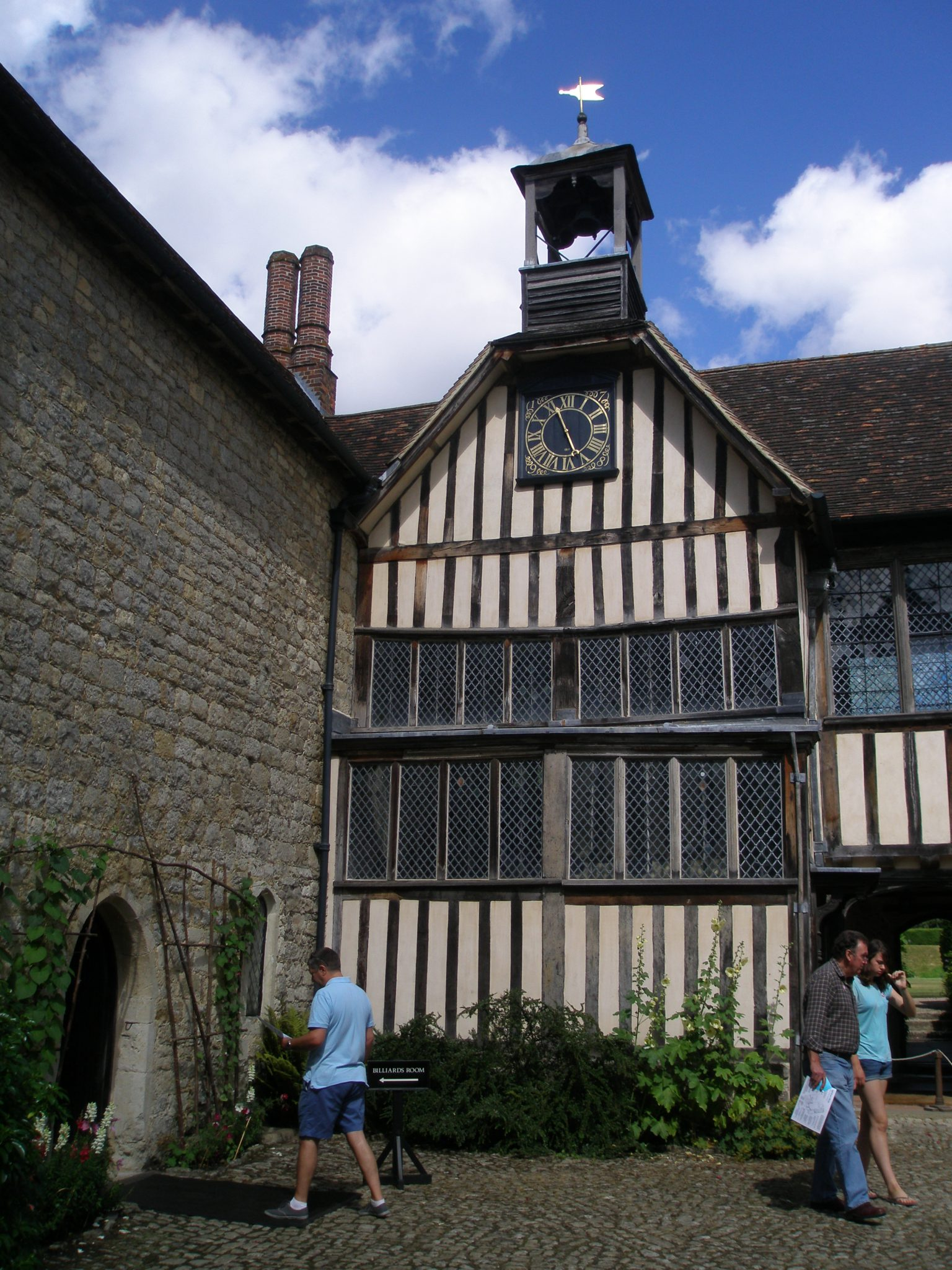 The House Clock, in the Courtyard