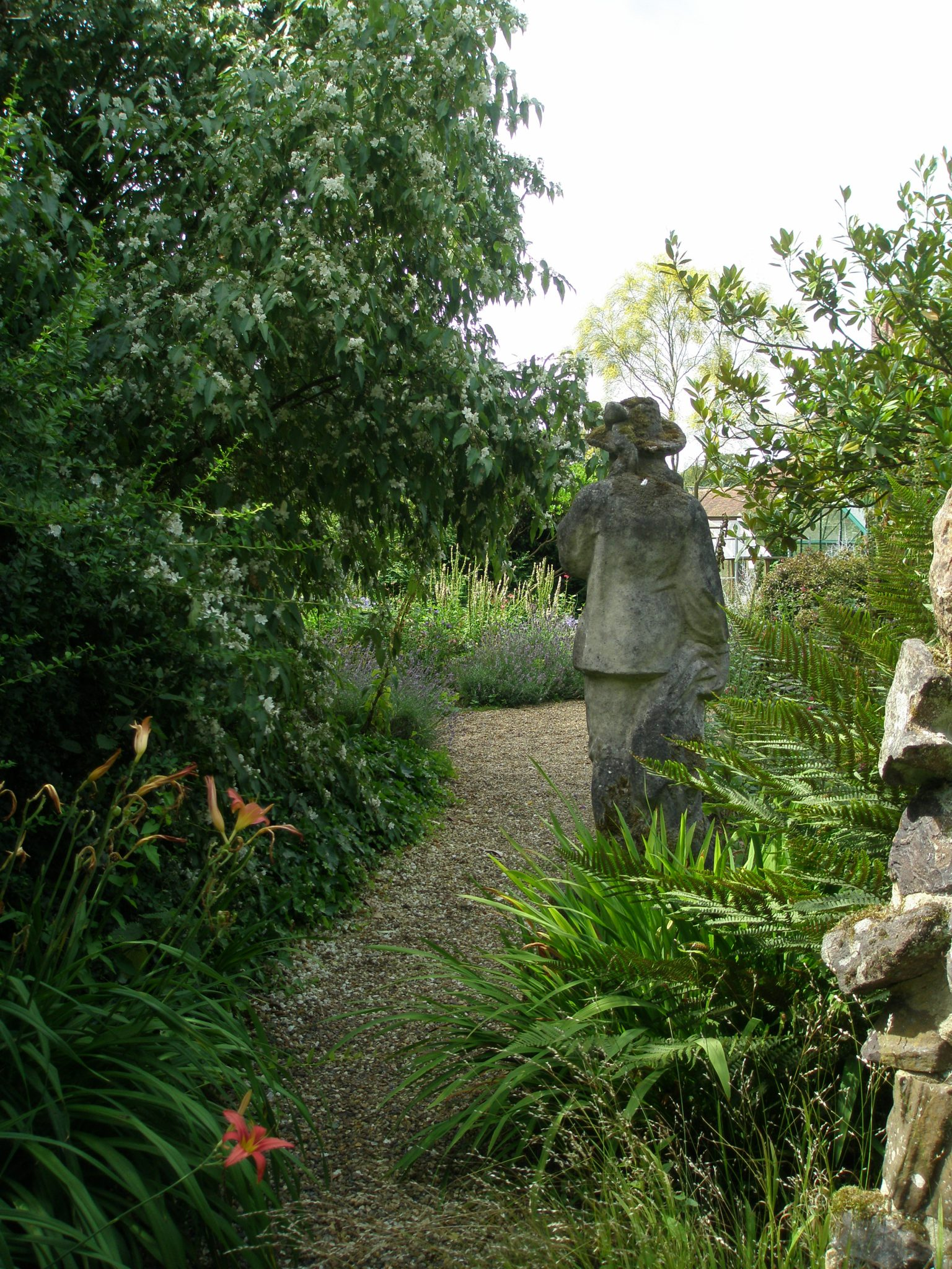 The only piece of figurative statuary that I saw in the Garden