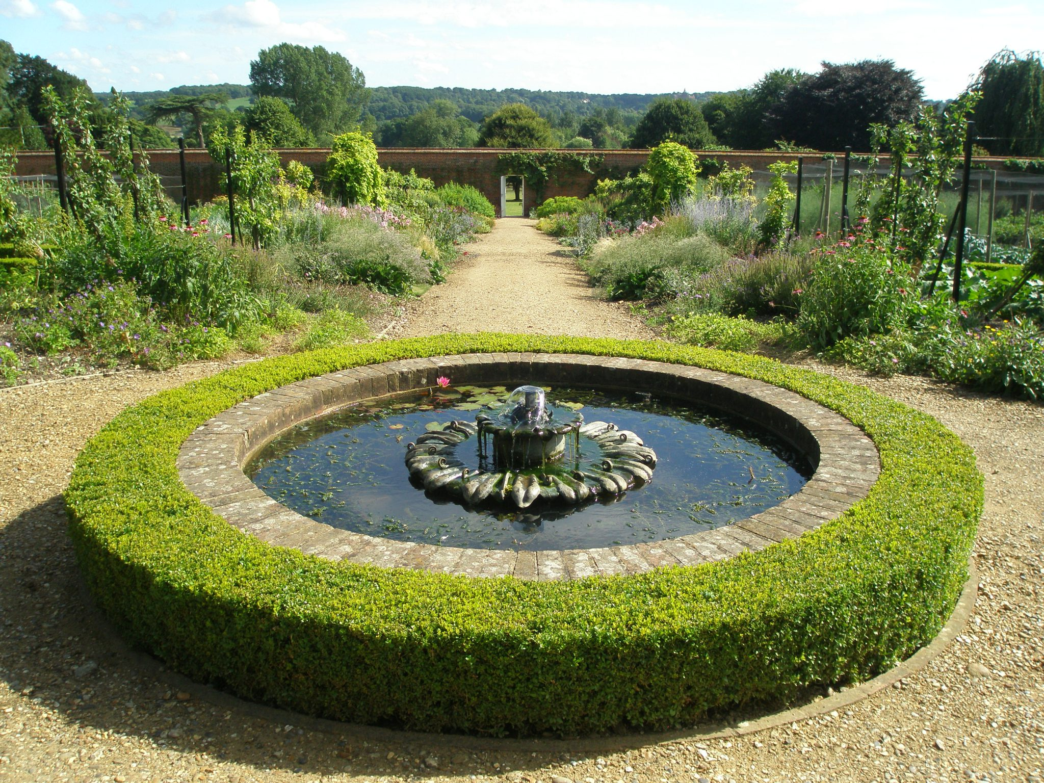 View from the higher reaches of the Walled Garden
