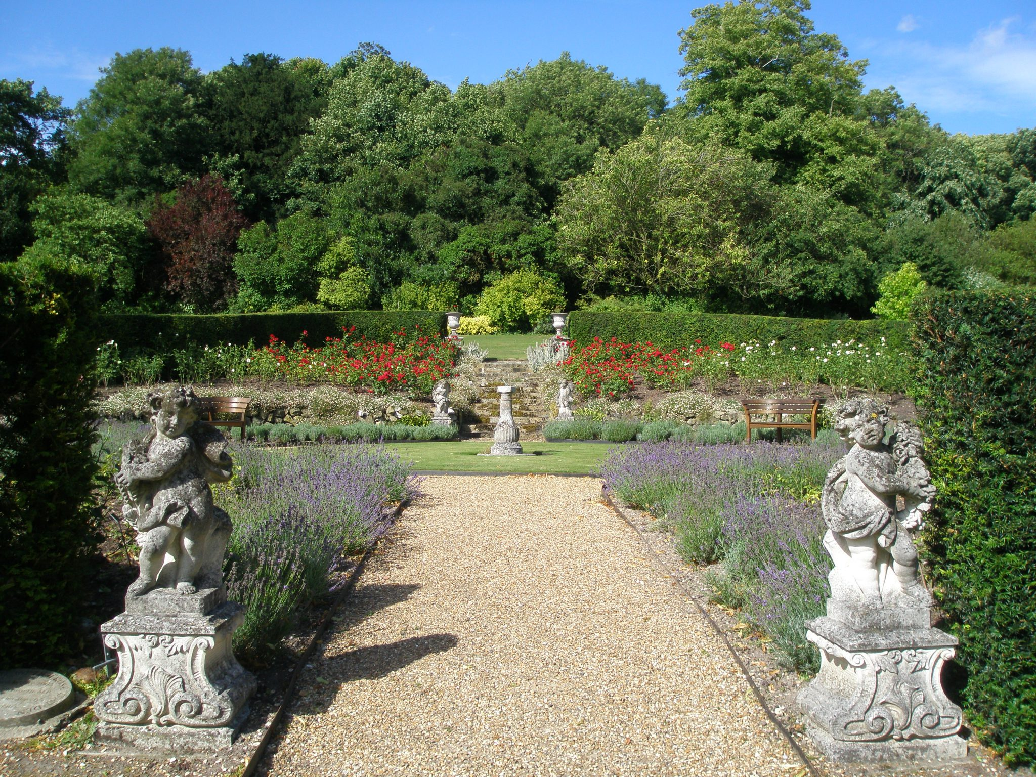 The Golden Jubilee Rose Garden