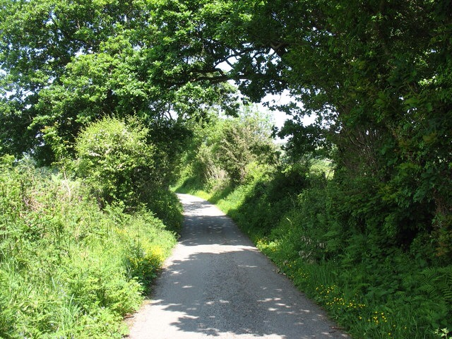 The Kentish road were were on was even narrower than this English lane