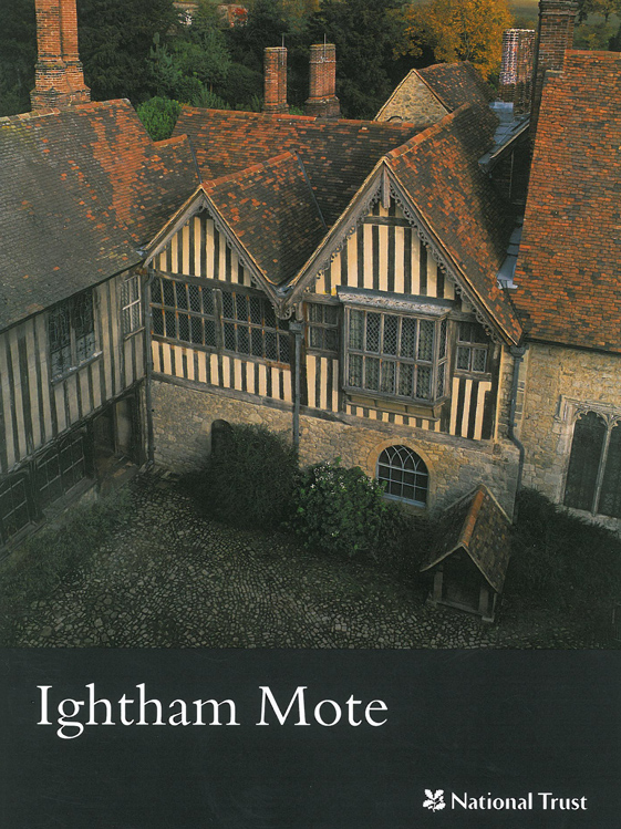 A Dove's-eye view of the inner courtyard at Ightham Mote. Image courtesy of The National Trust