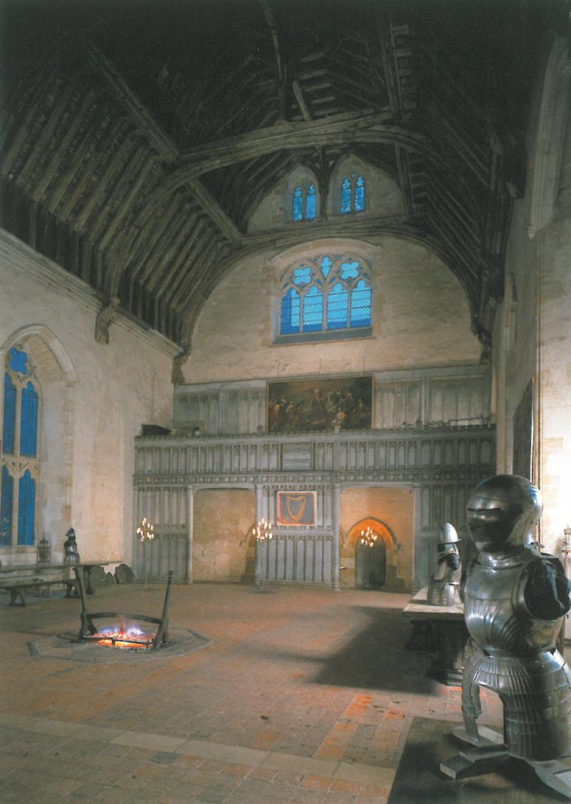 Well, WELL! Now within the cavernous Baron's Hall, I understood what all the fuss was about! Image courtesy of Penshurst Place.