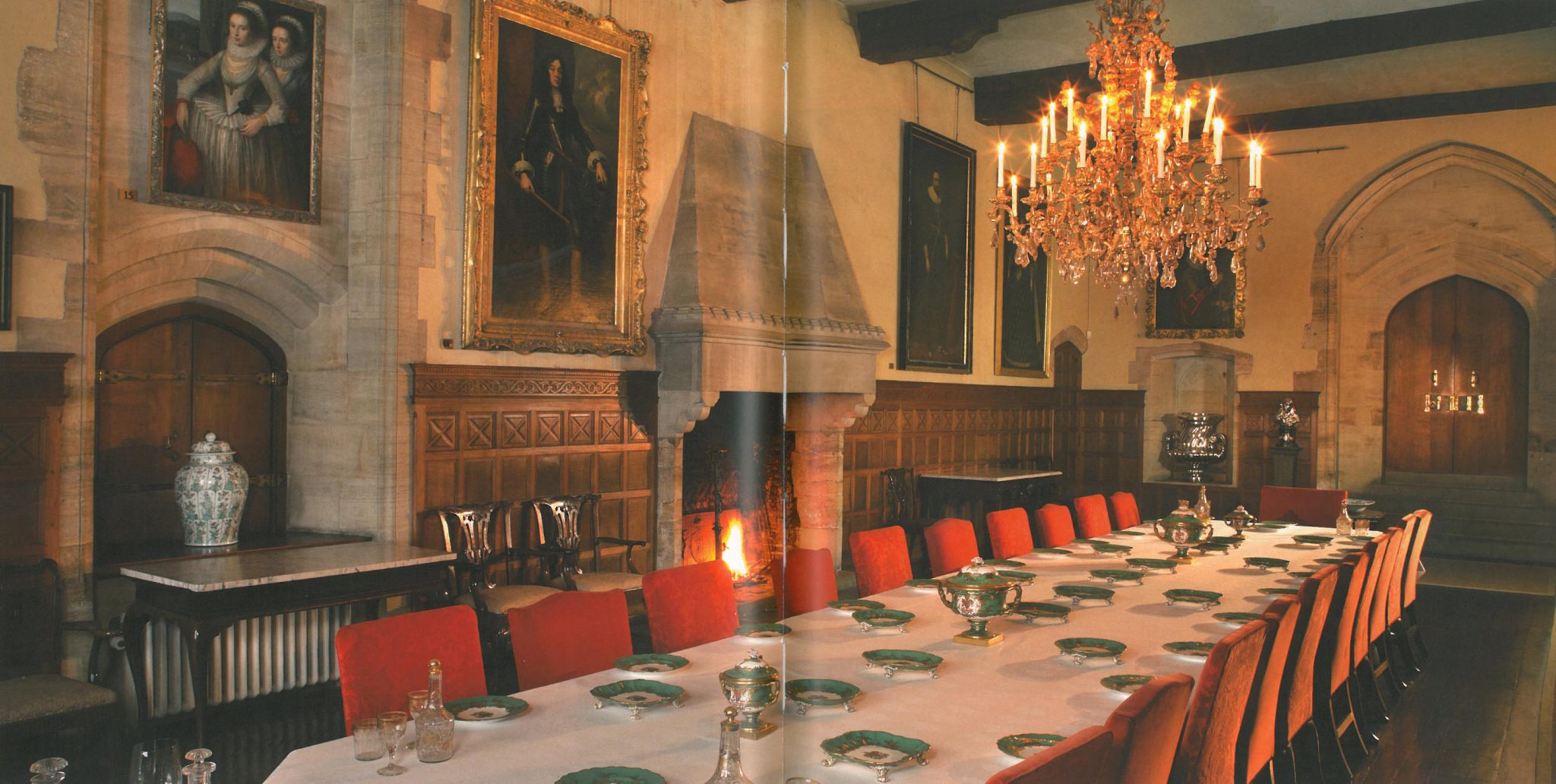 The Solar, or The State Dining Room. Image courtesy of Penshurst Place.