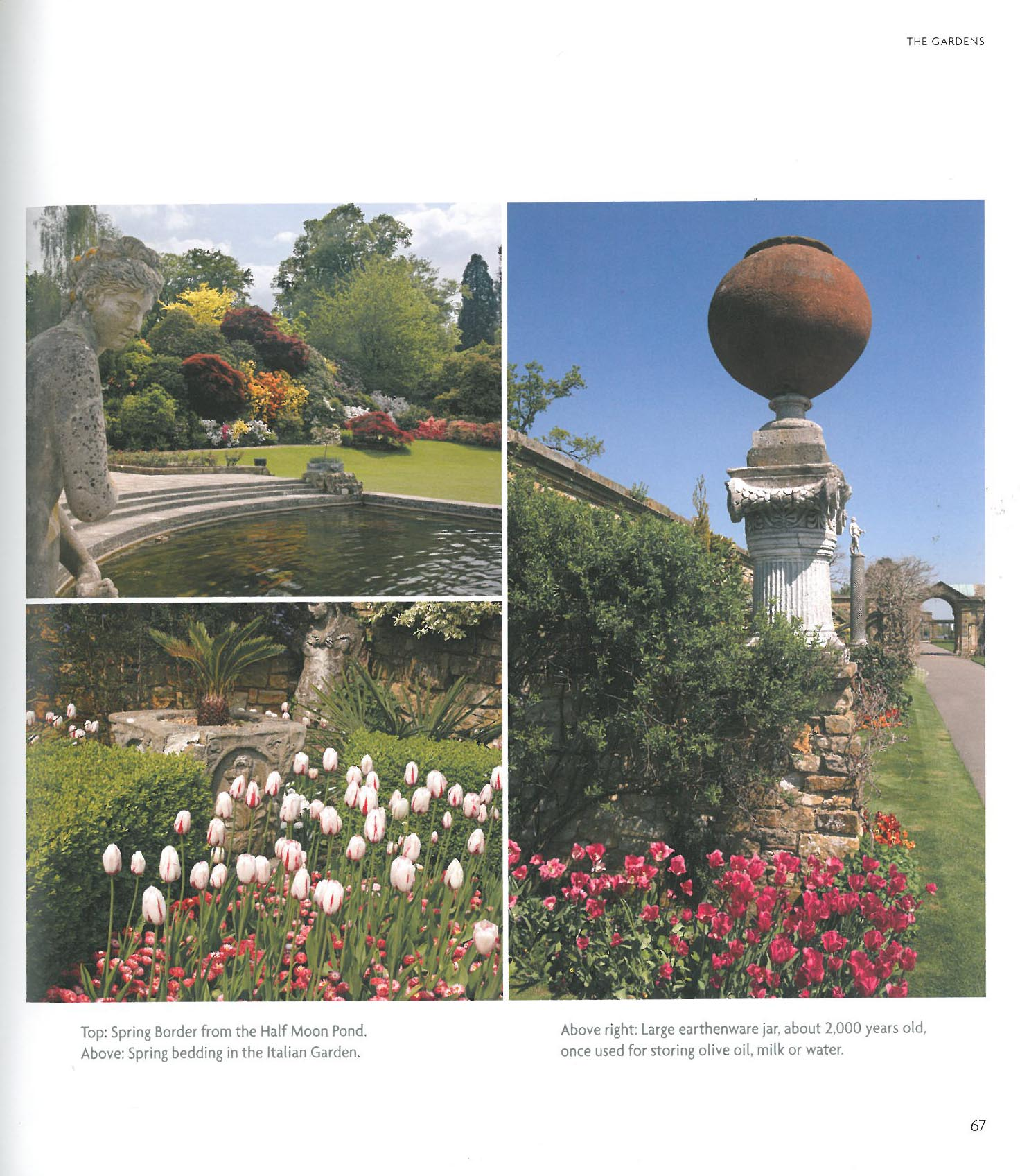 What the Gardens look like, on sunnier days. Image courtesy of Hever Castle.
