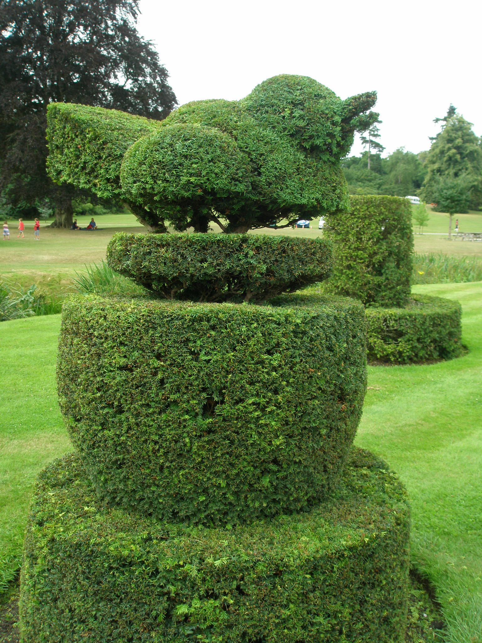 Another example of How to Have Fun With Hedge Clippers