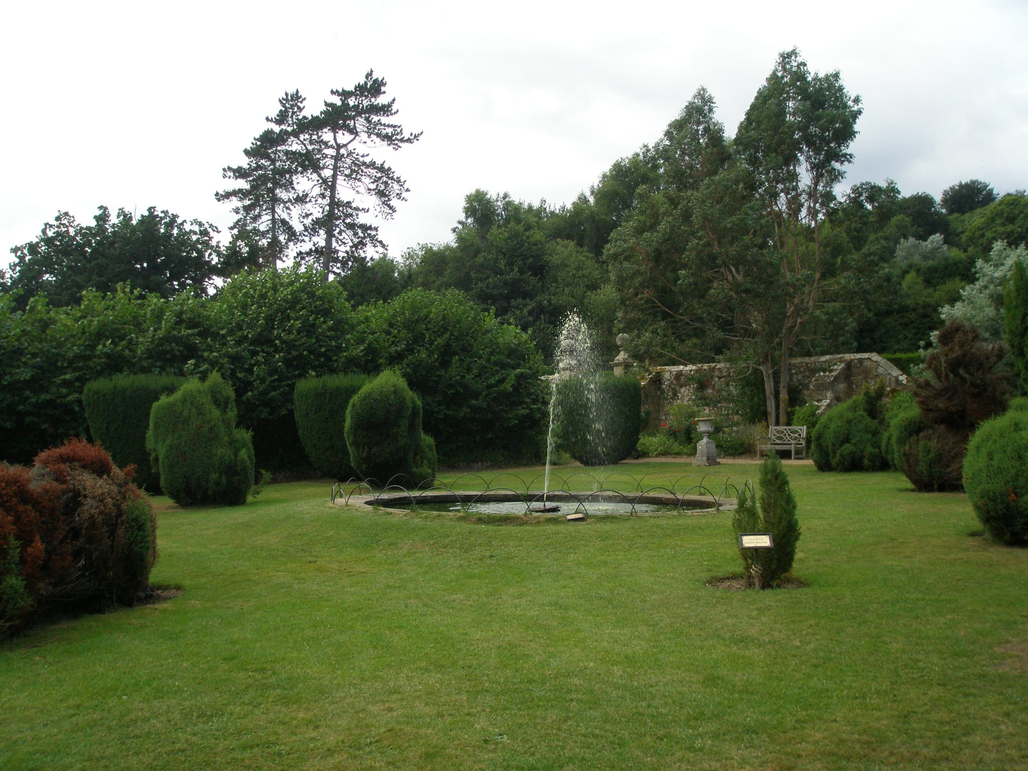 The Drunken Garden, at Groombridge Place