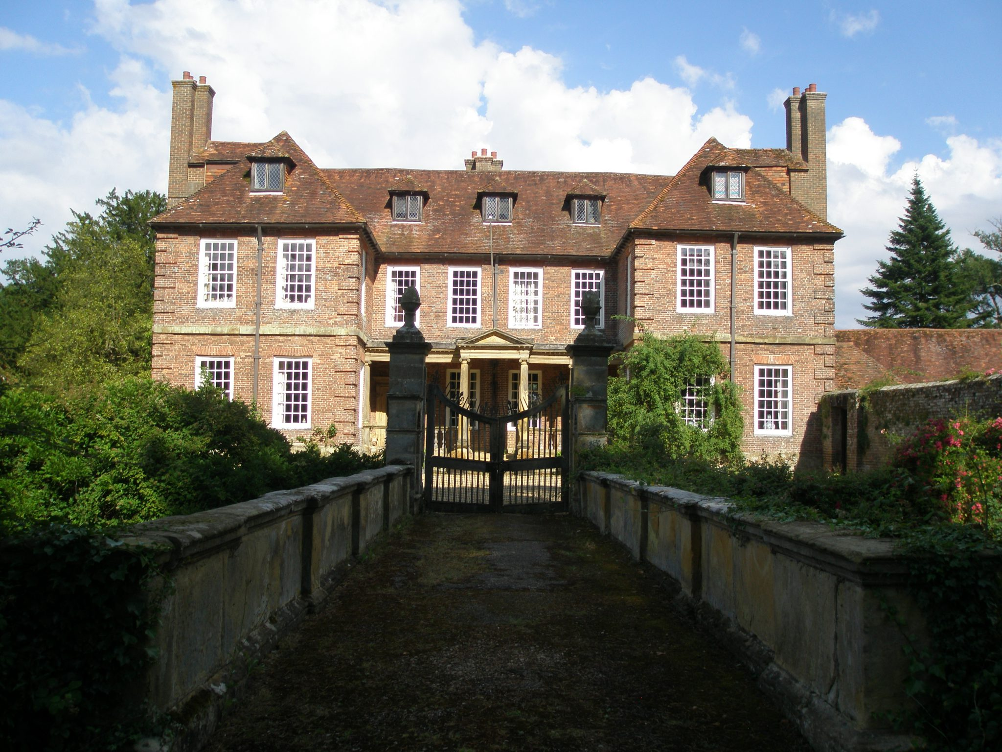 View from the Front Bridge, to the House