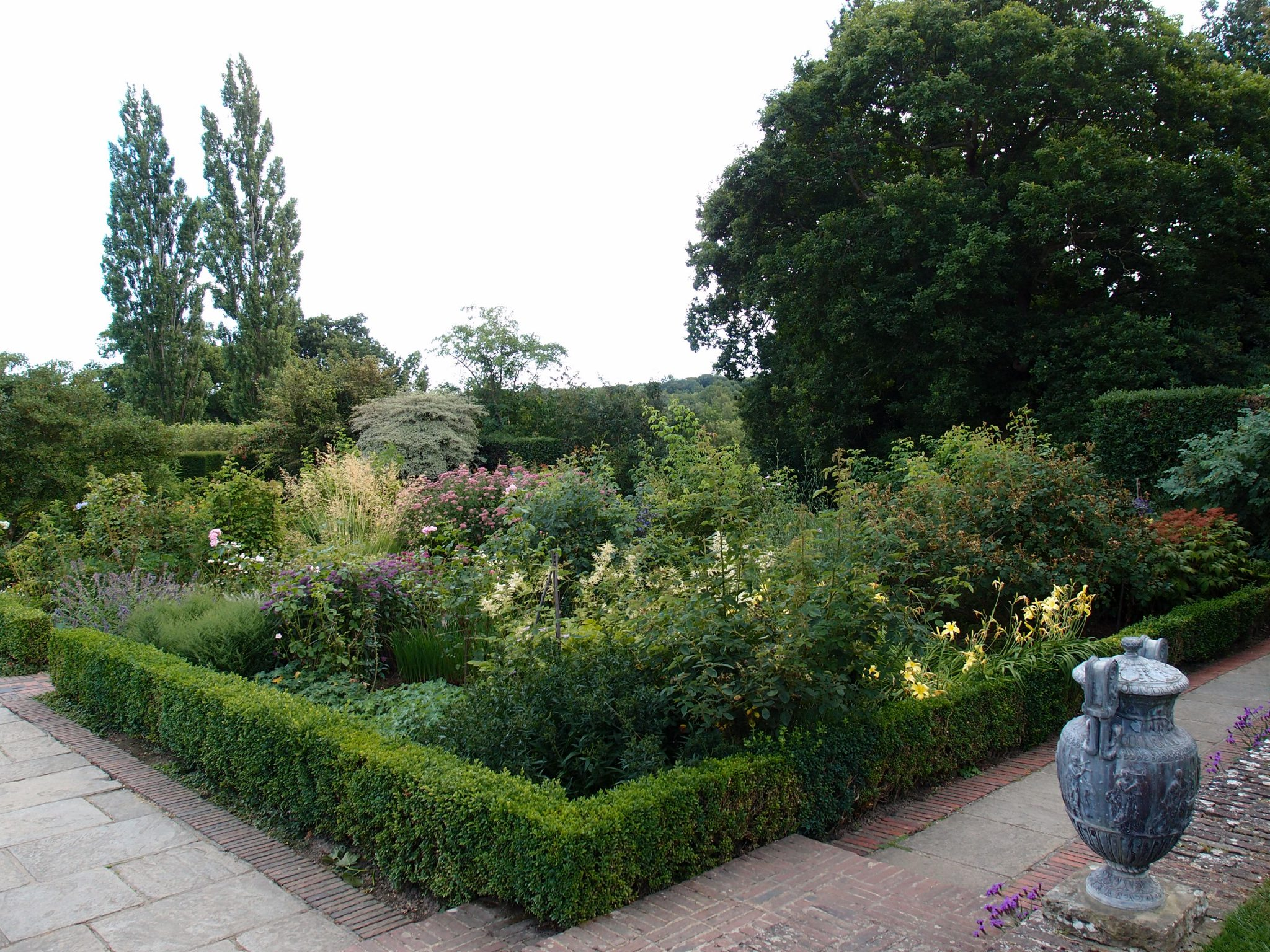 A portion of the Rose Garden