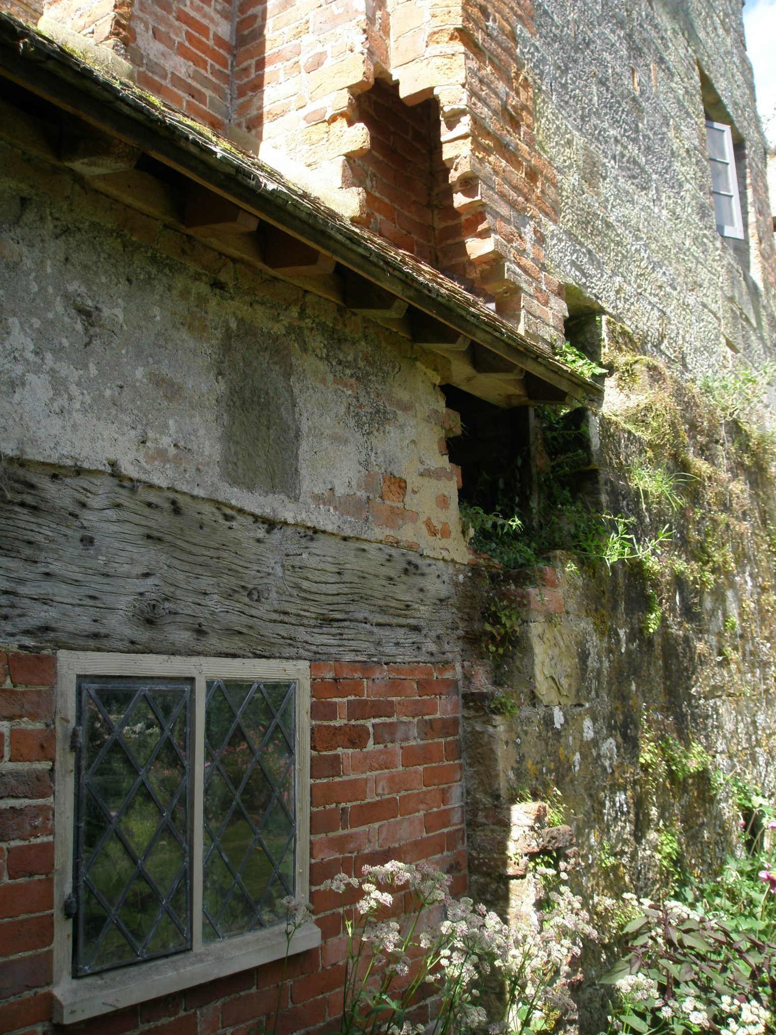 Detail of Old Castle walls