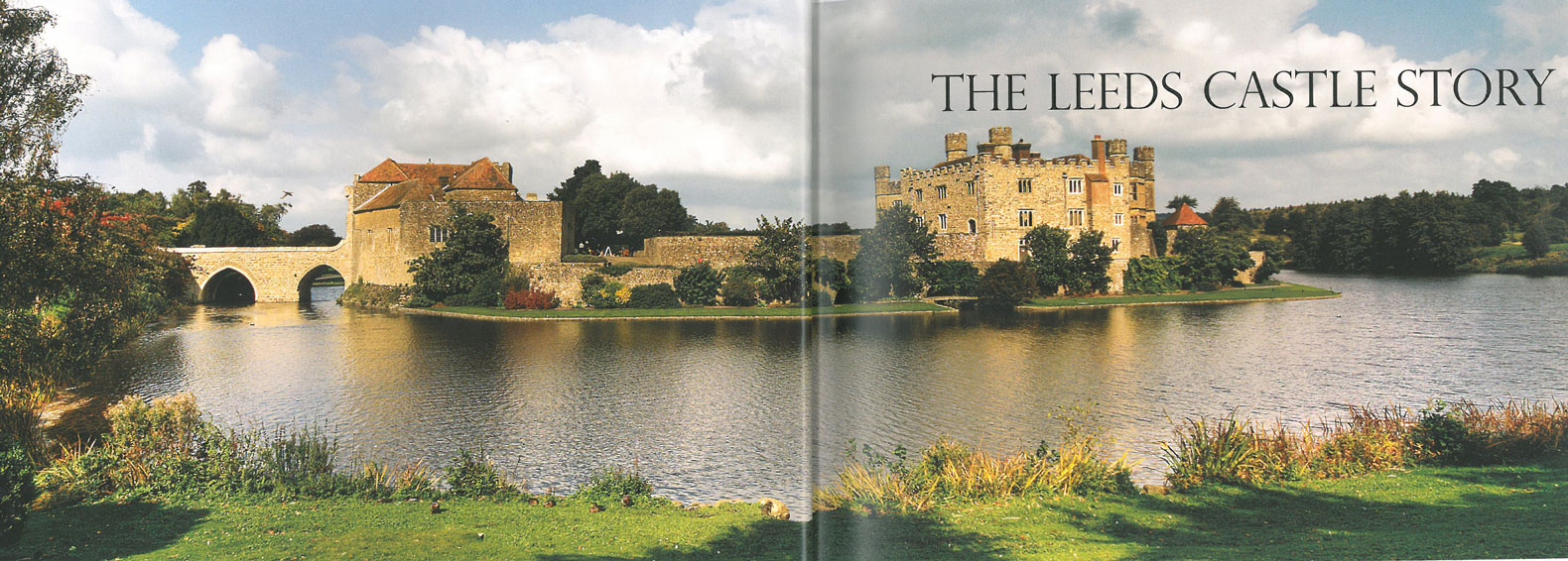 Another look at the Gatehouse, and the non-towering Maiden's Tower. Image courtesy of Leeds Castle.