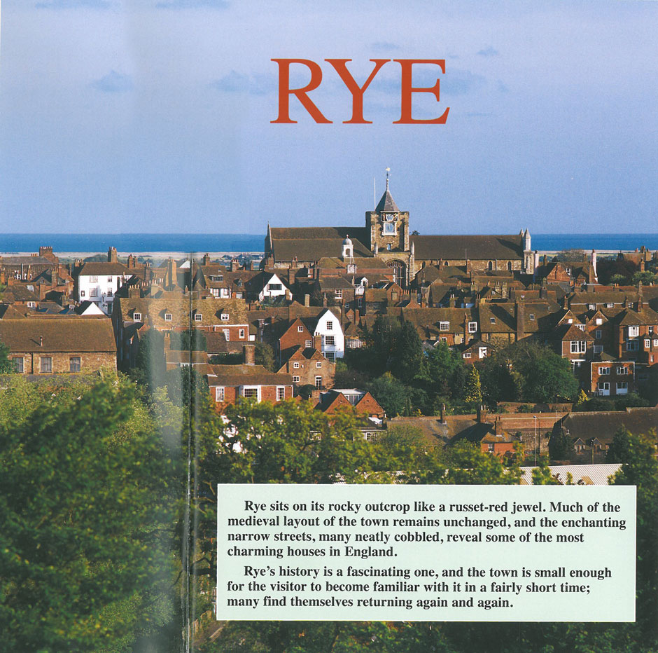 Just as the Rye Town Guide promises, a return trip is inevitable. I'll report about my upcoming visit to Lamb House in a future Armchair Traveler's Diary. Image courtesy of Ann Lockhart.