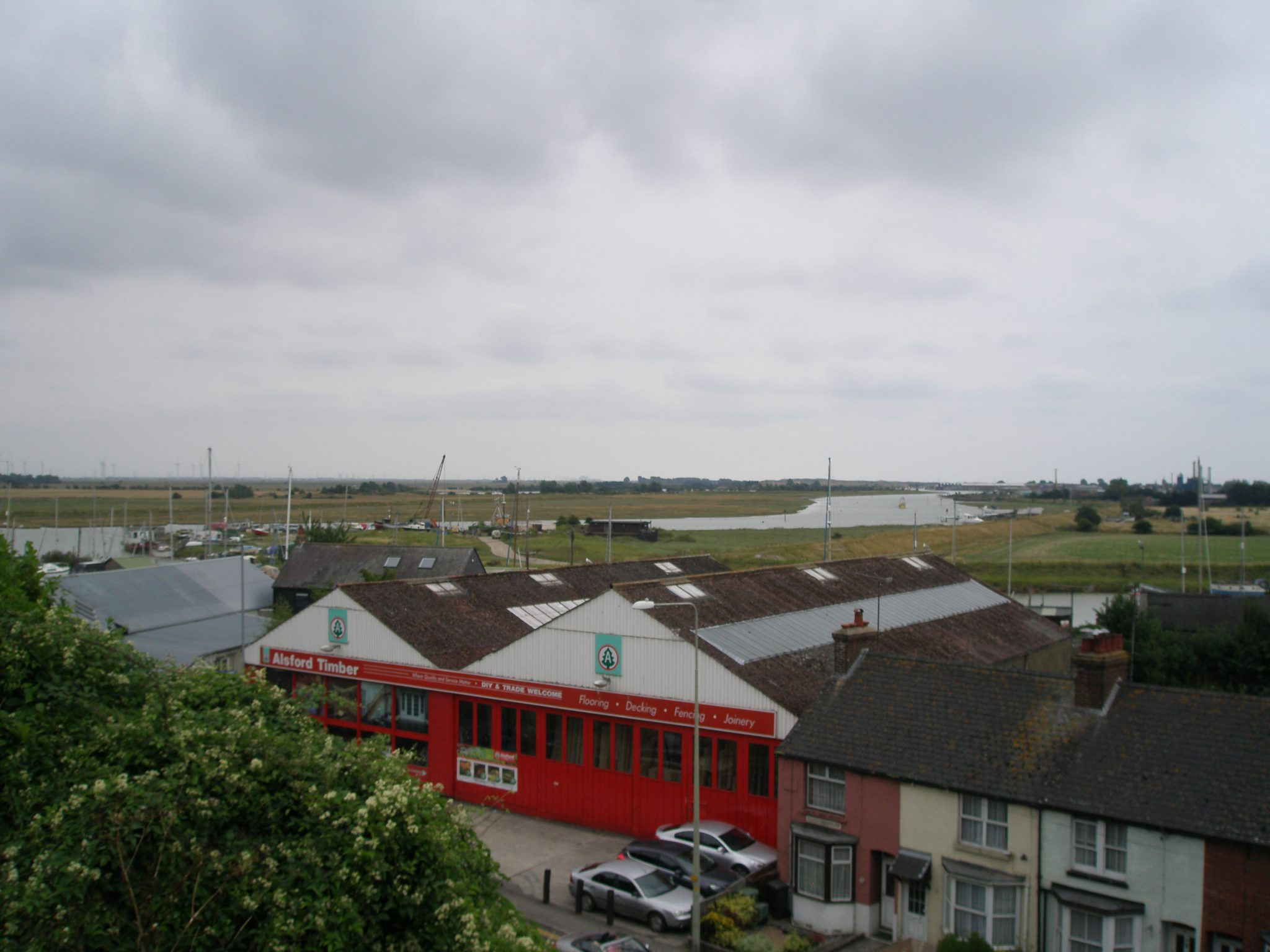 On the far side of The Ypres Tower, we looked out over the River Rother. The view from this point has changed considerably over the years. During the threat of the Spanish Armada in 1588, the high tide would have filled a large estuary, with wide open sea beyond. After the French sacked the town in 1377, sea-facing cannons were mounted on this spot.