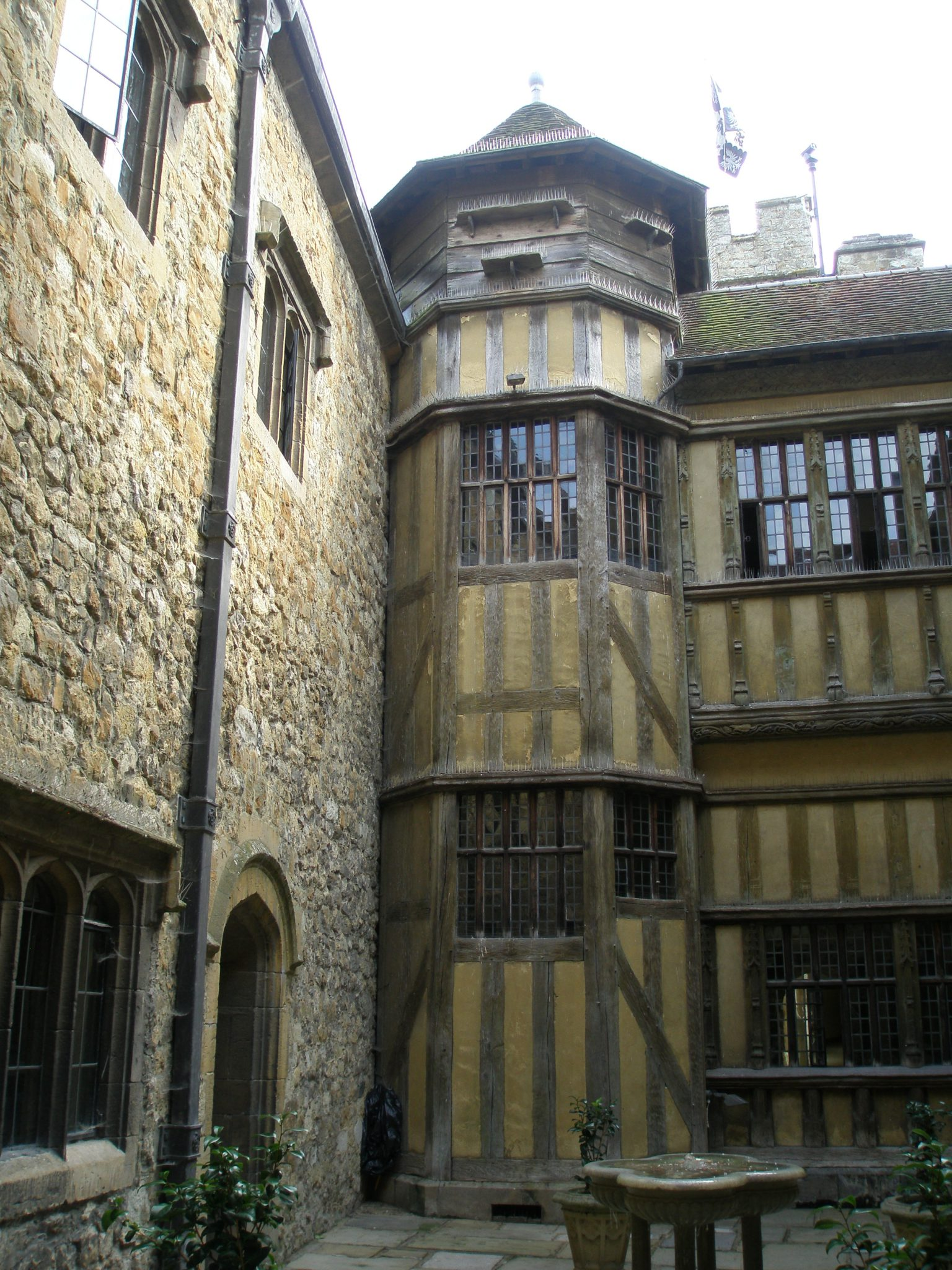Another view of the Fountain Court