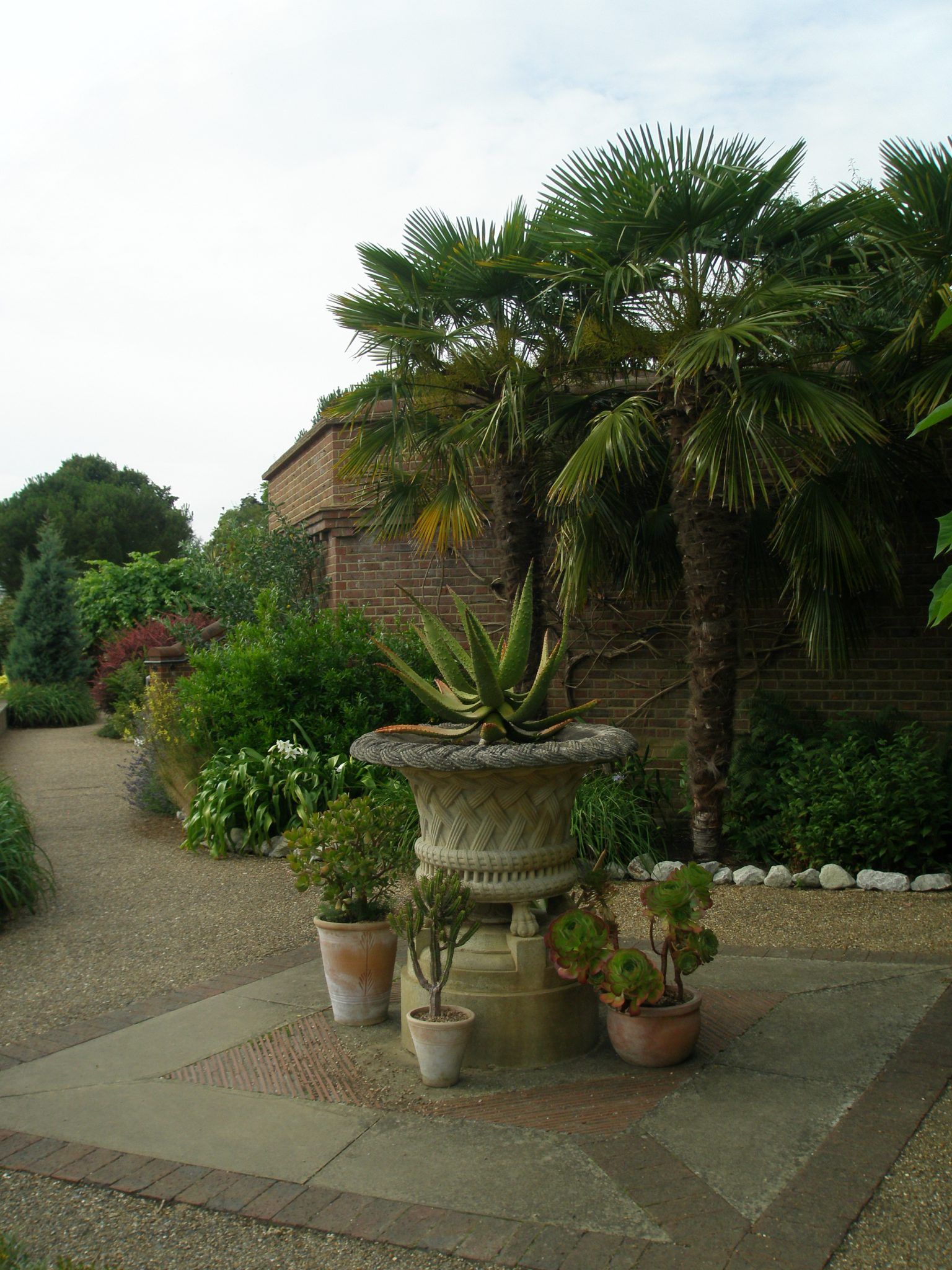 Another view of the Lady Baillie Garden Terrace.
