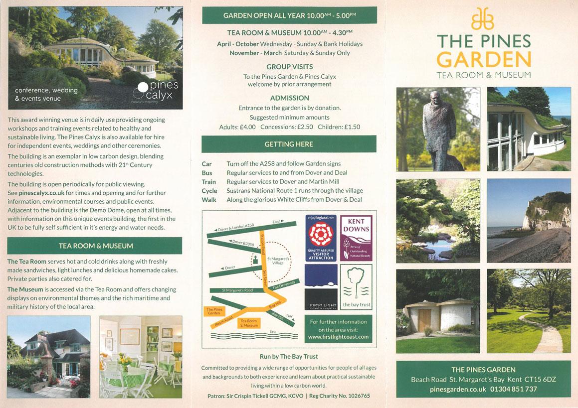 The Pines Garden brochure