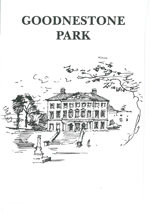 Goodnestone Park Gardens, one of Jane Austen's favorite places to visit in Kent. Image courtesy of Goodnestone Park.